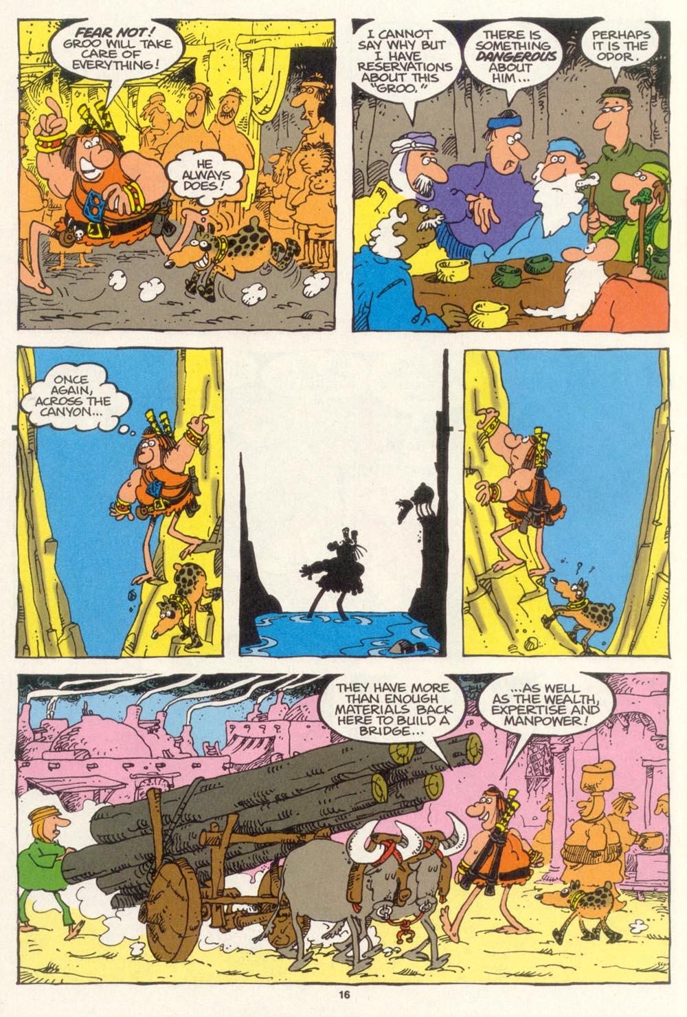 Read online Sergio Aragonés Groo the Wanderer comic -  Issue #102 - 18