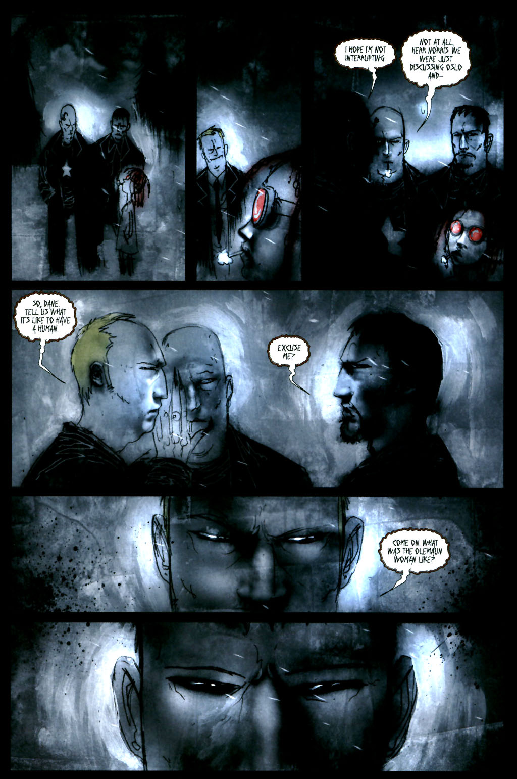 Read online 30 Days of Night: Return to Barrow comic -  Issue #4 - 21