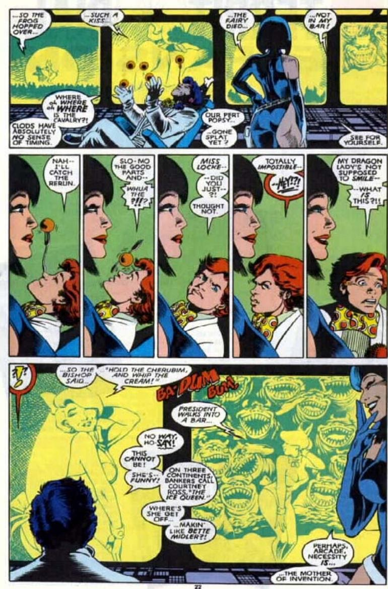 Excalibur (1988) issue 4 - Page 18
