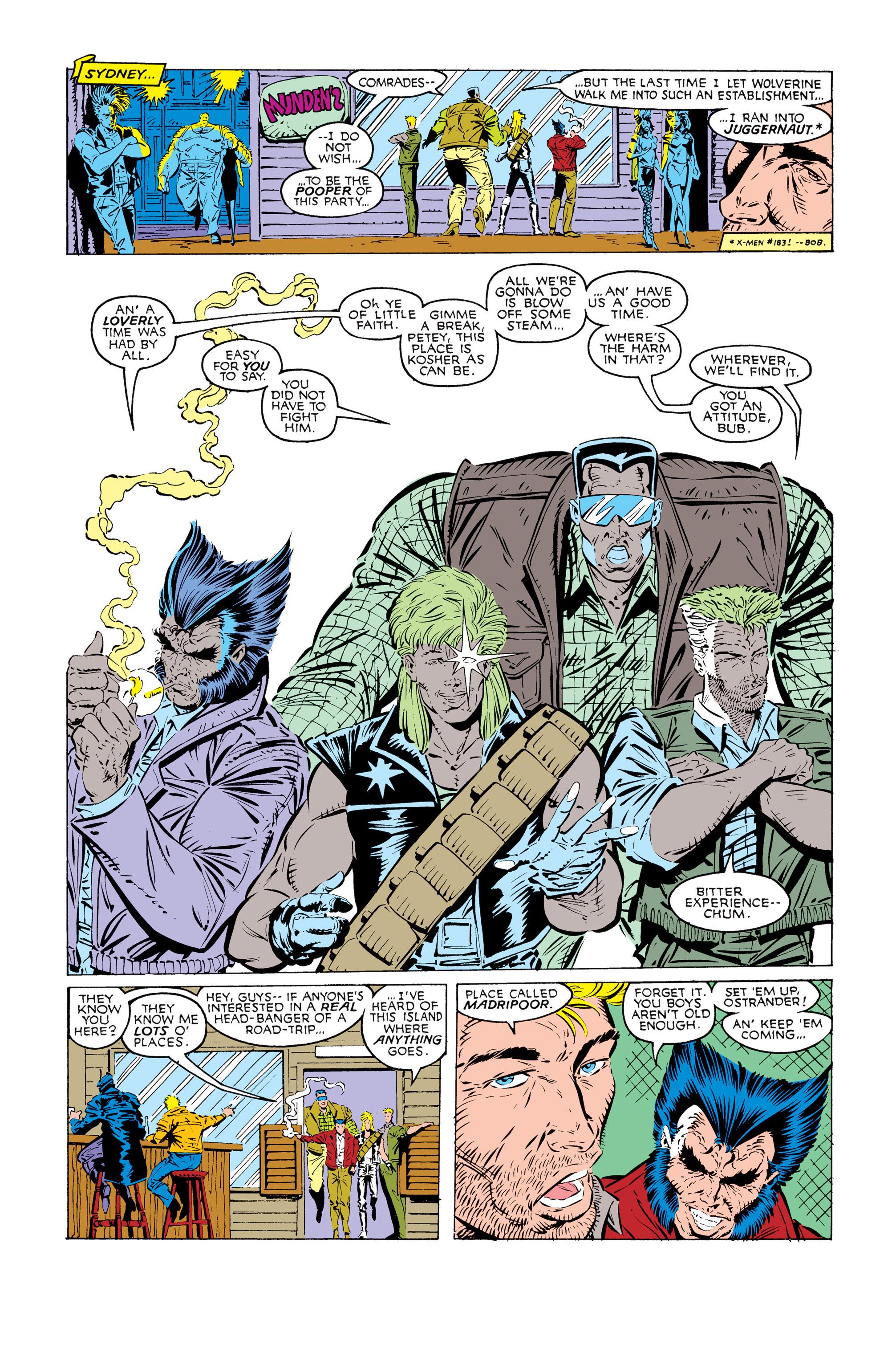 Read online Uncanny X-Men (1963) comic -  Issue #245 - 9