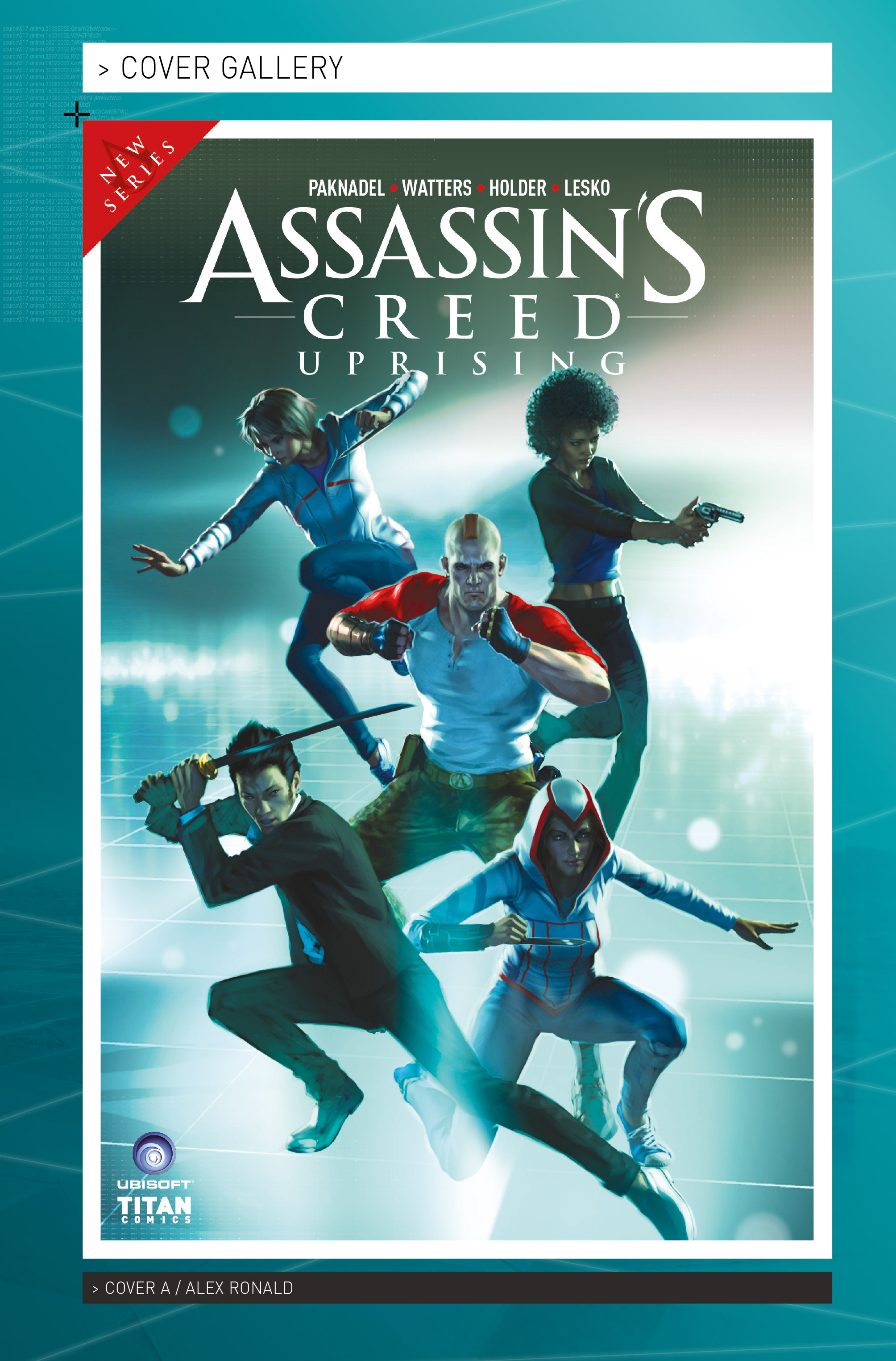 Read online Assassin's Creed: Uprising comic -  Issue #1 - 29
