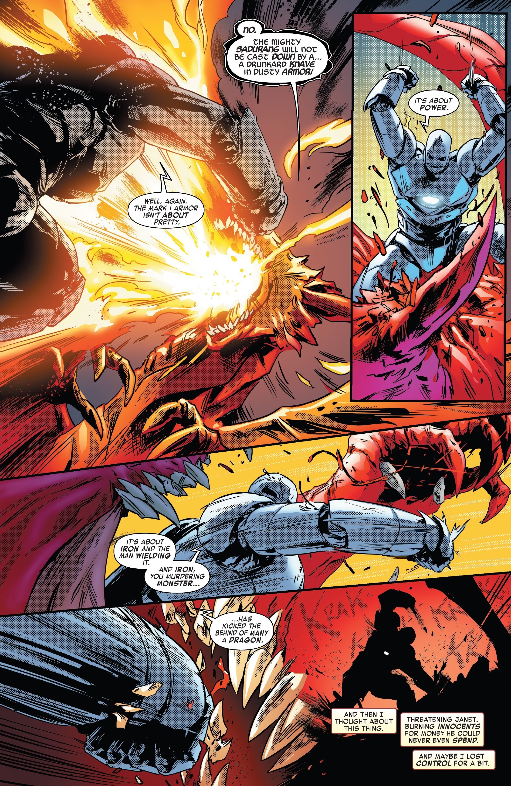 Read online Tony Stark: Iron Man comic -  Issue #13 - 22