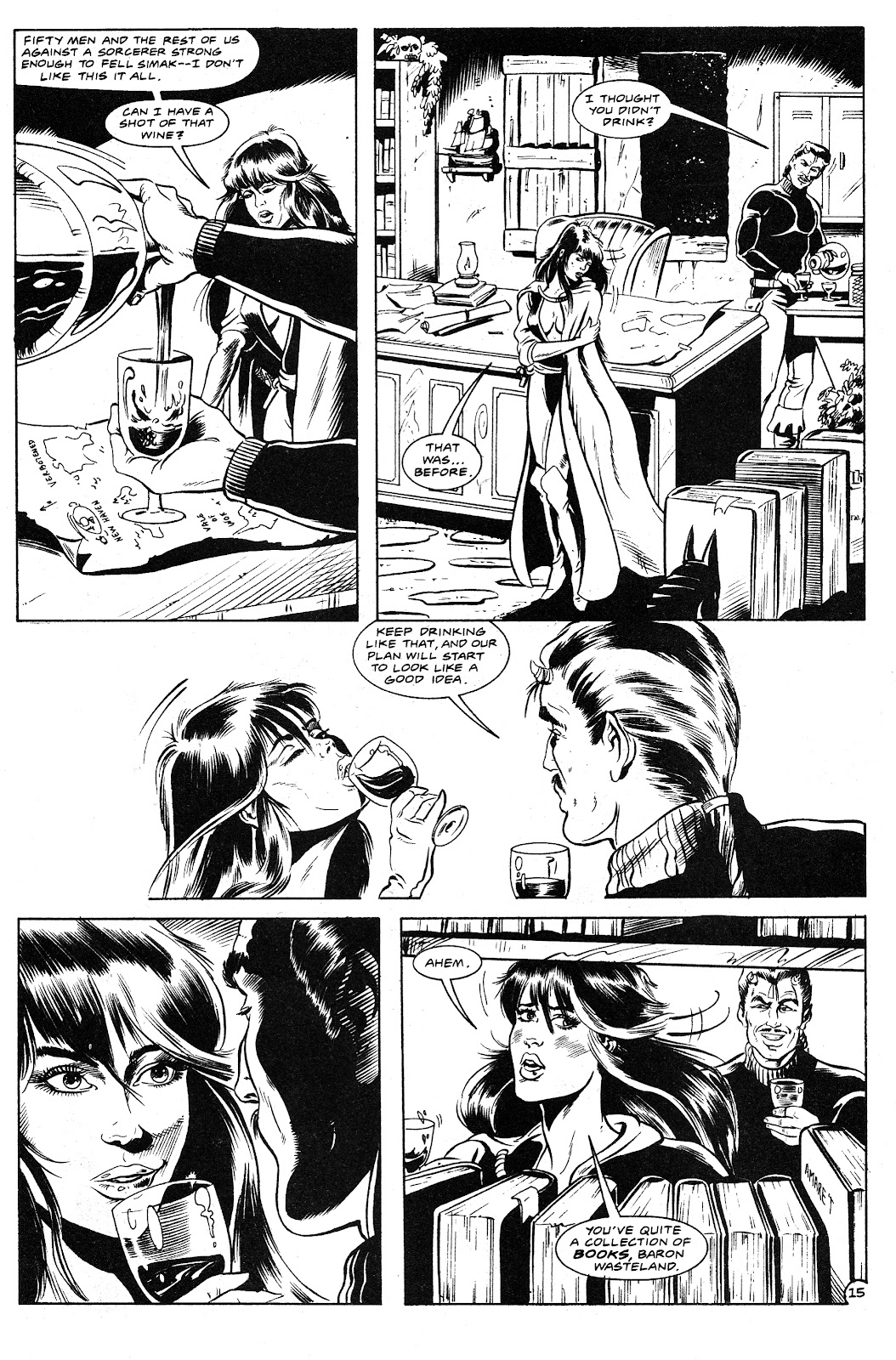 Ex-Mutants: The Shattered Earth Chronicles issue 9 - Page 17
