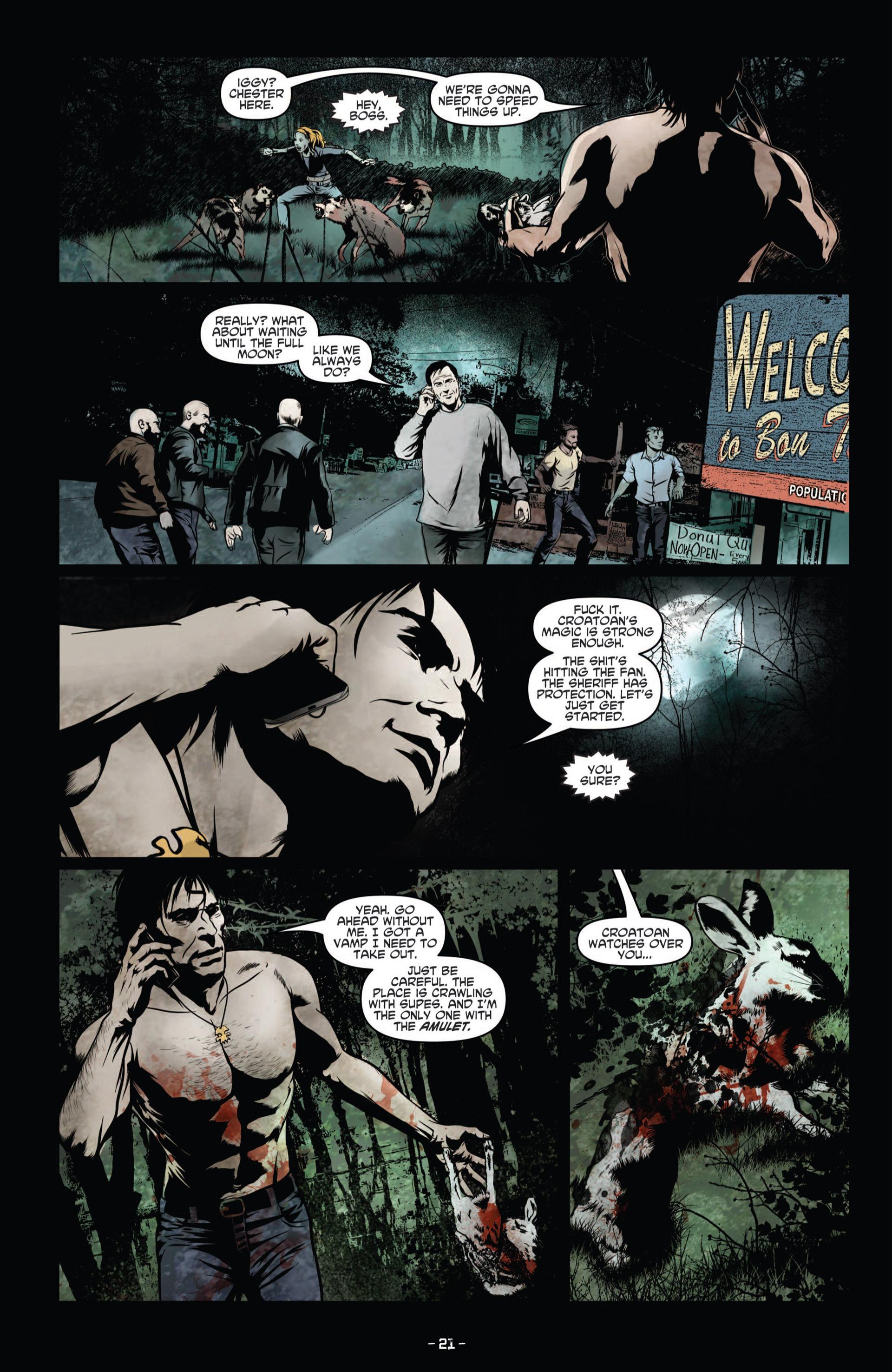 Read online True Blood (2012) comic -  Issue #8 - 23