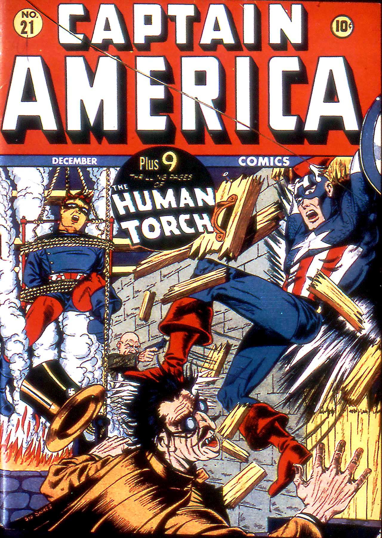 Captain America Comics 21 Page 1