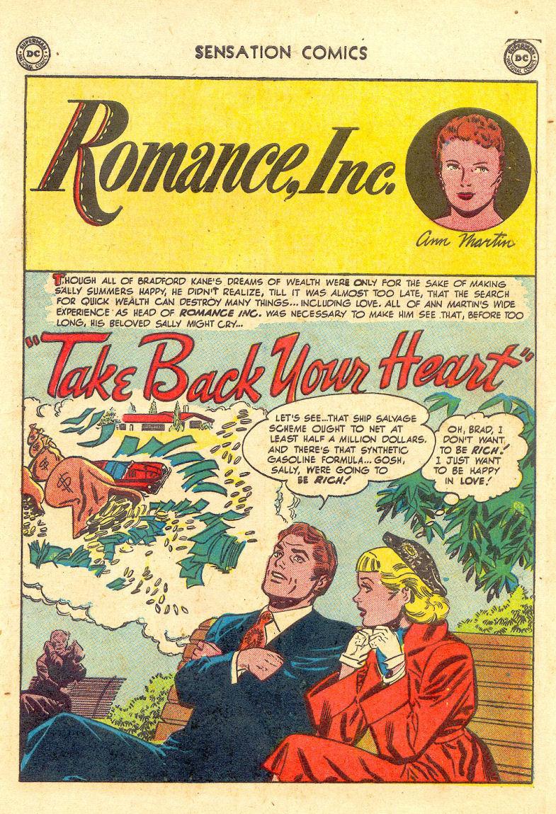 Read online Sensation (Mystery) Comics comic -  Issue #105 - 41