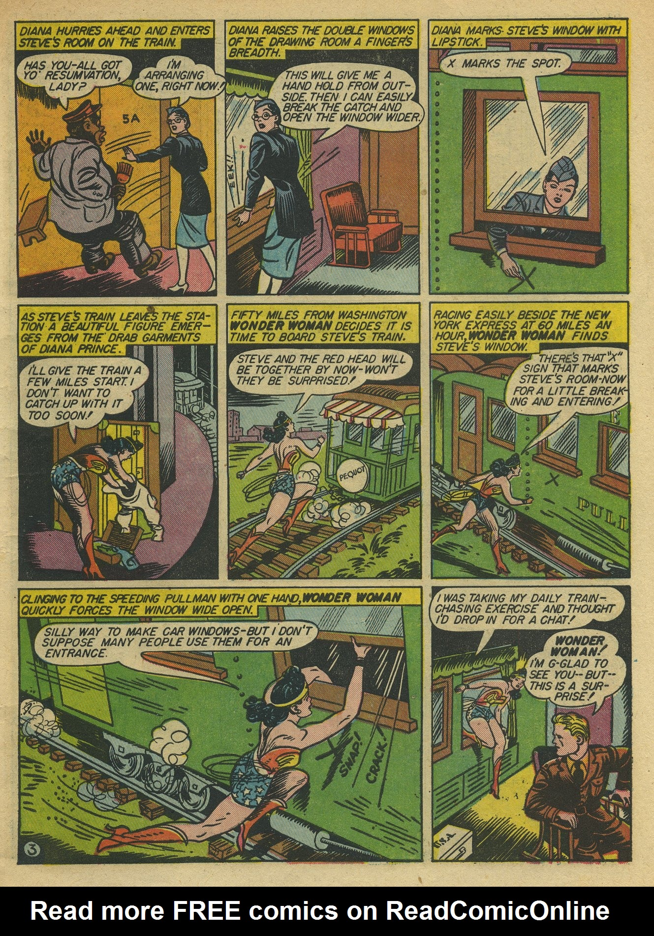 Read online Sensation (Mystery) Comics comic -  Issue #10 - 5