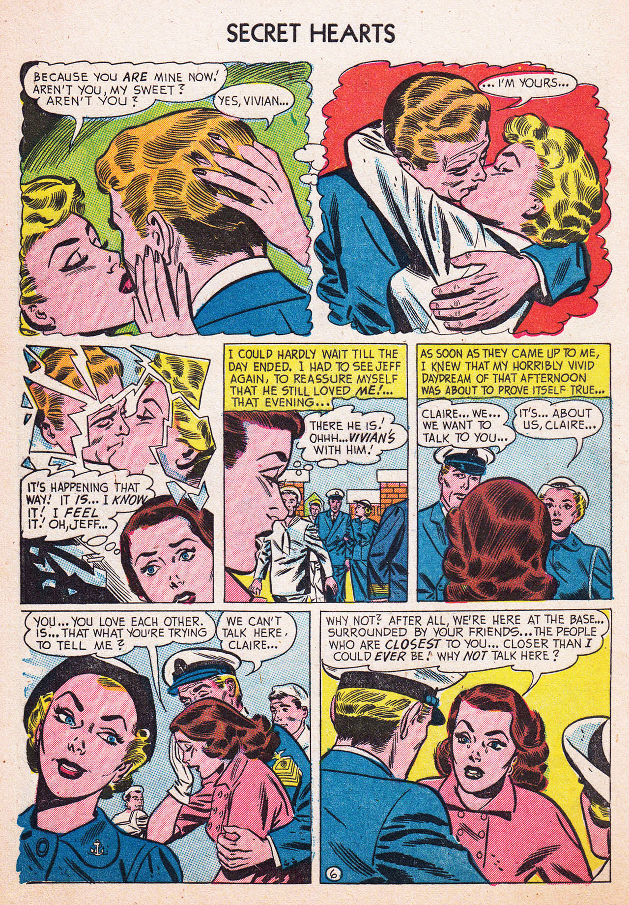 Read online Secret Hearts comic -  Issue #13 - 32