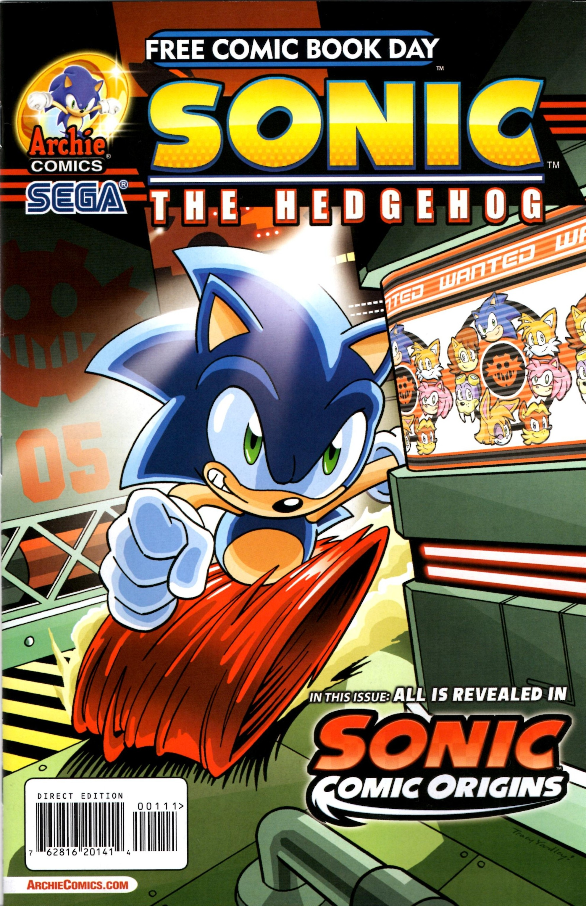 Free Comic Book Day 2014 Archie Sonic The Hedgehog Sonic Comic Origins Viewcomic Reading Comics Online For Free 2019