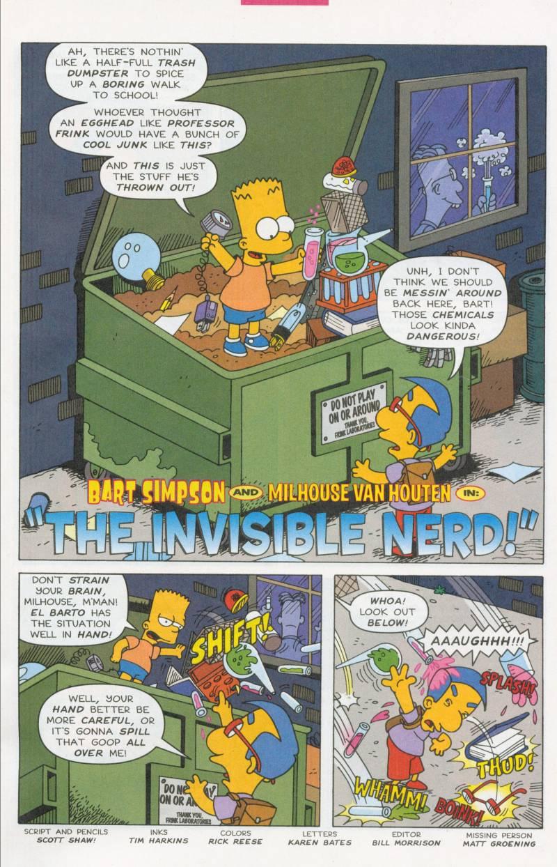 Read online Simpsons Comics Presents Bart Simpson comic -  Issue #6 - 14