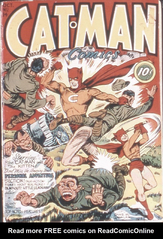 Cat-Man Comics 14 Page 1