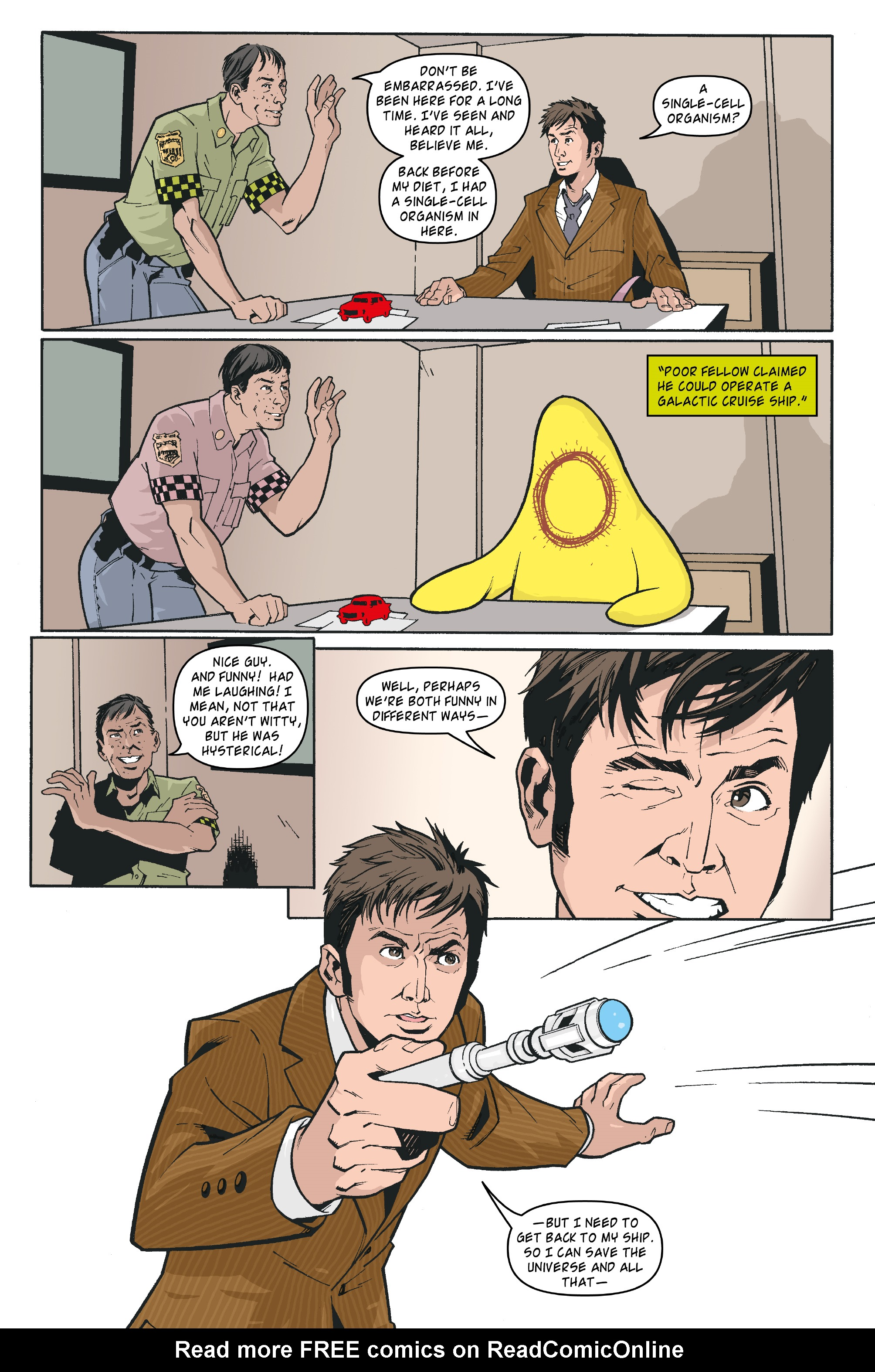 Read online Doctor Who: The Tenth Doctor Archives comic -  Issue #35 - 9