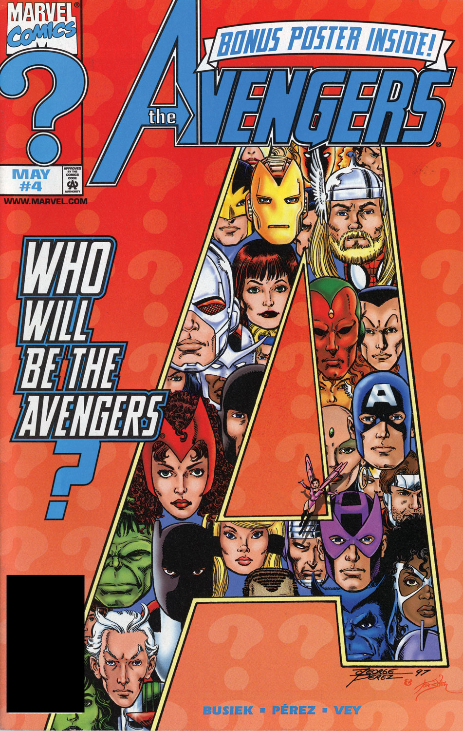 Read online Avengers (1998) comic -  Issue #4 - 1