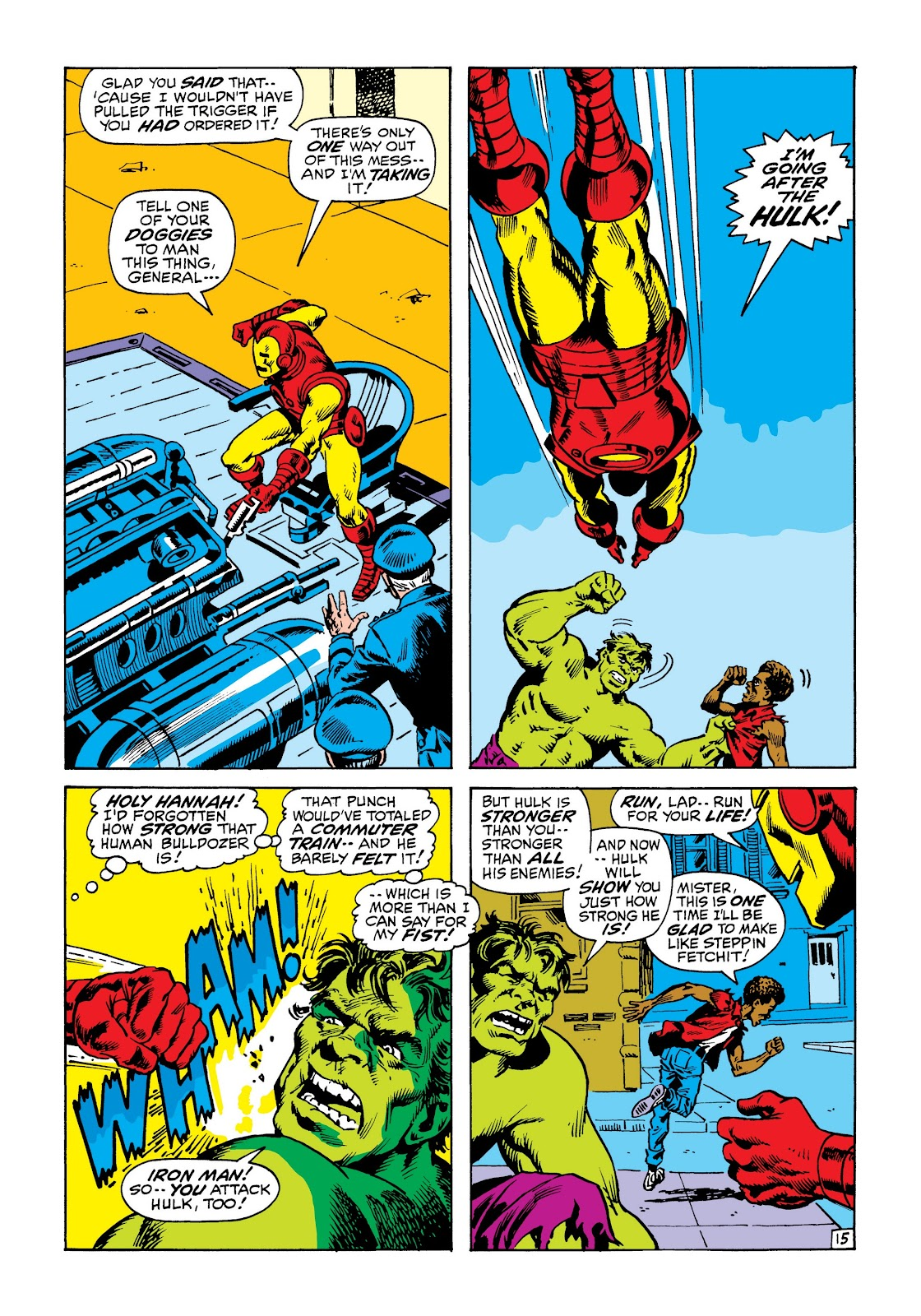 Read online Marvel Masterworks: The Incredible Hulk comic -  Issue # TPB 6 (Part 3) - 8
