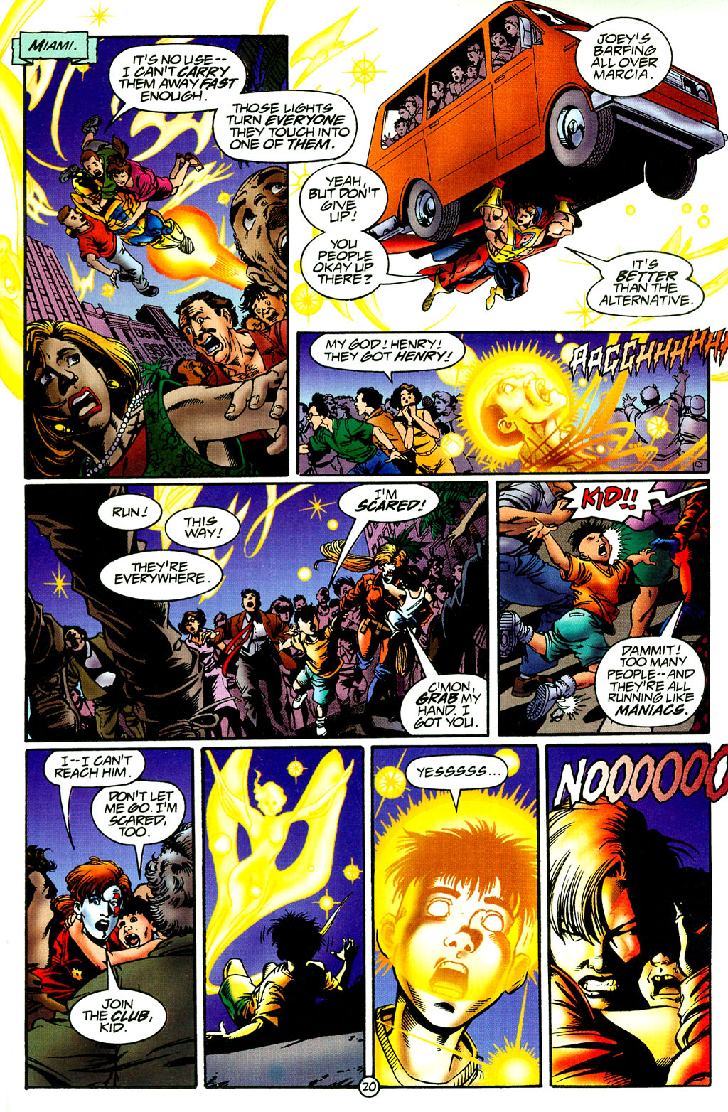 Read online UltraForce (1994) comic -  Issue #8 - 19