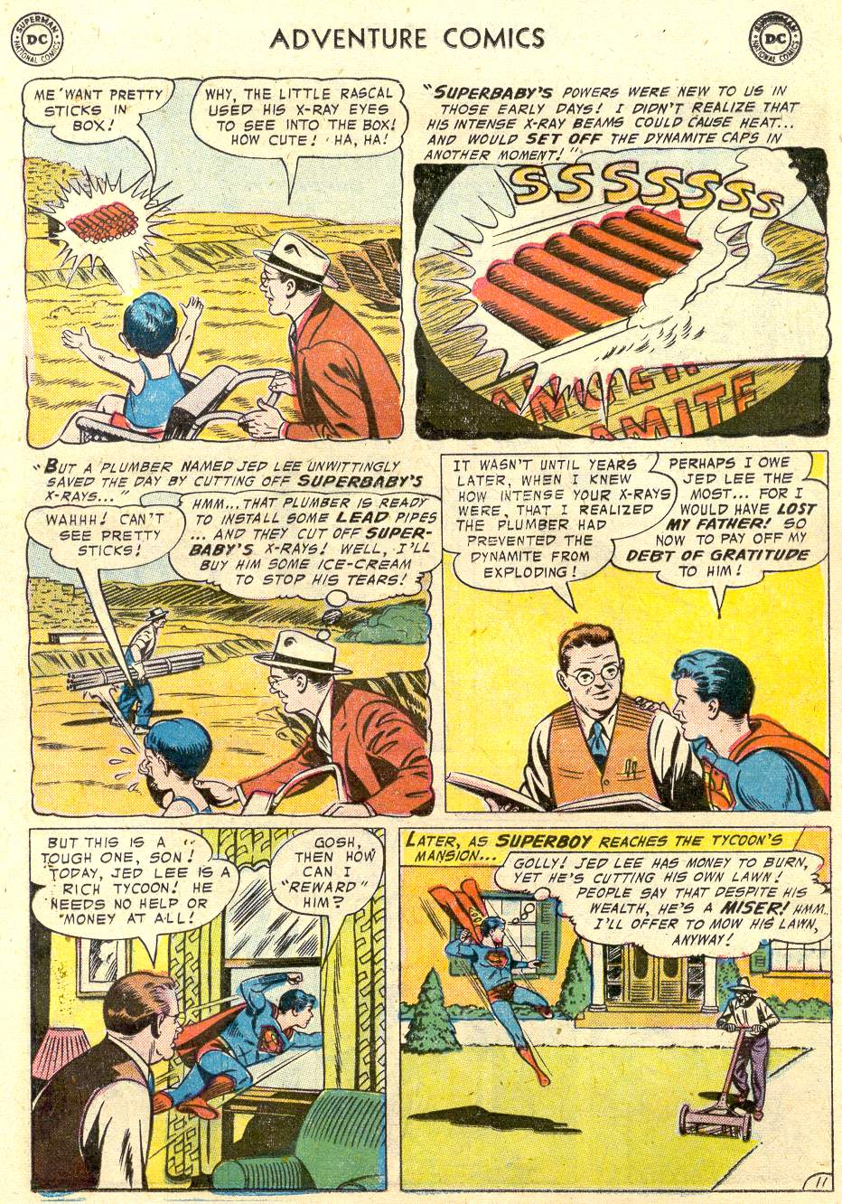 Read online Adventure Comics (1938) comic -  Issue #231 - 14