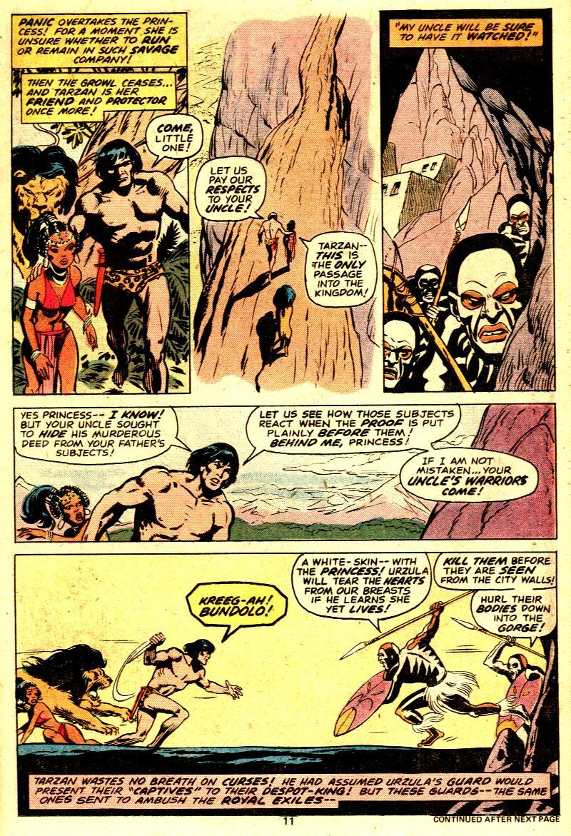 Read online Tarzan (1977) comic -  Issue # _Annual 2 - 10