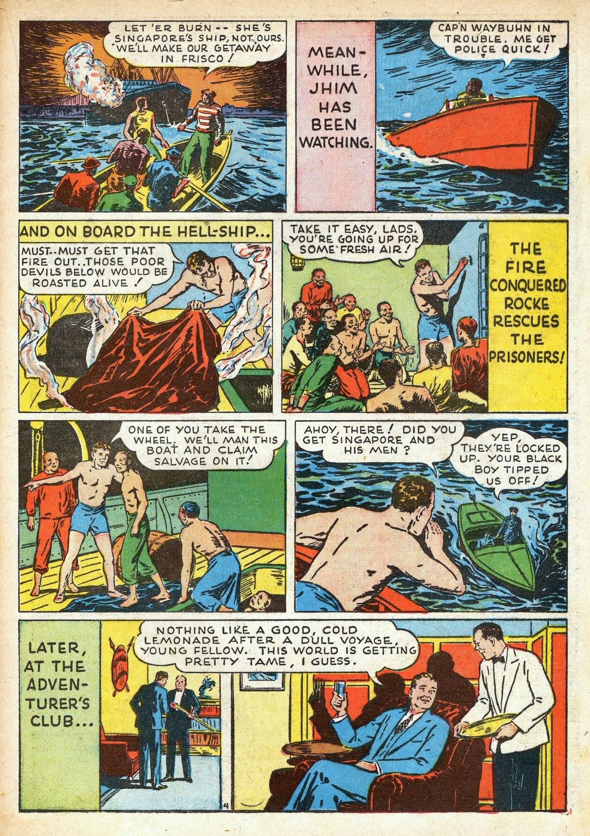 Read online Amazing Man Comics comic -  Issue #16 - 33