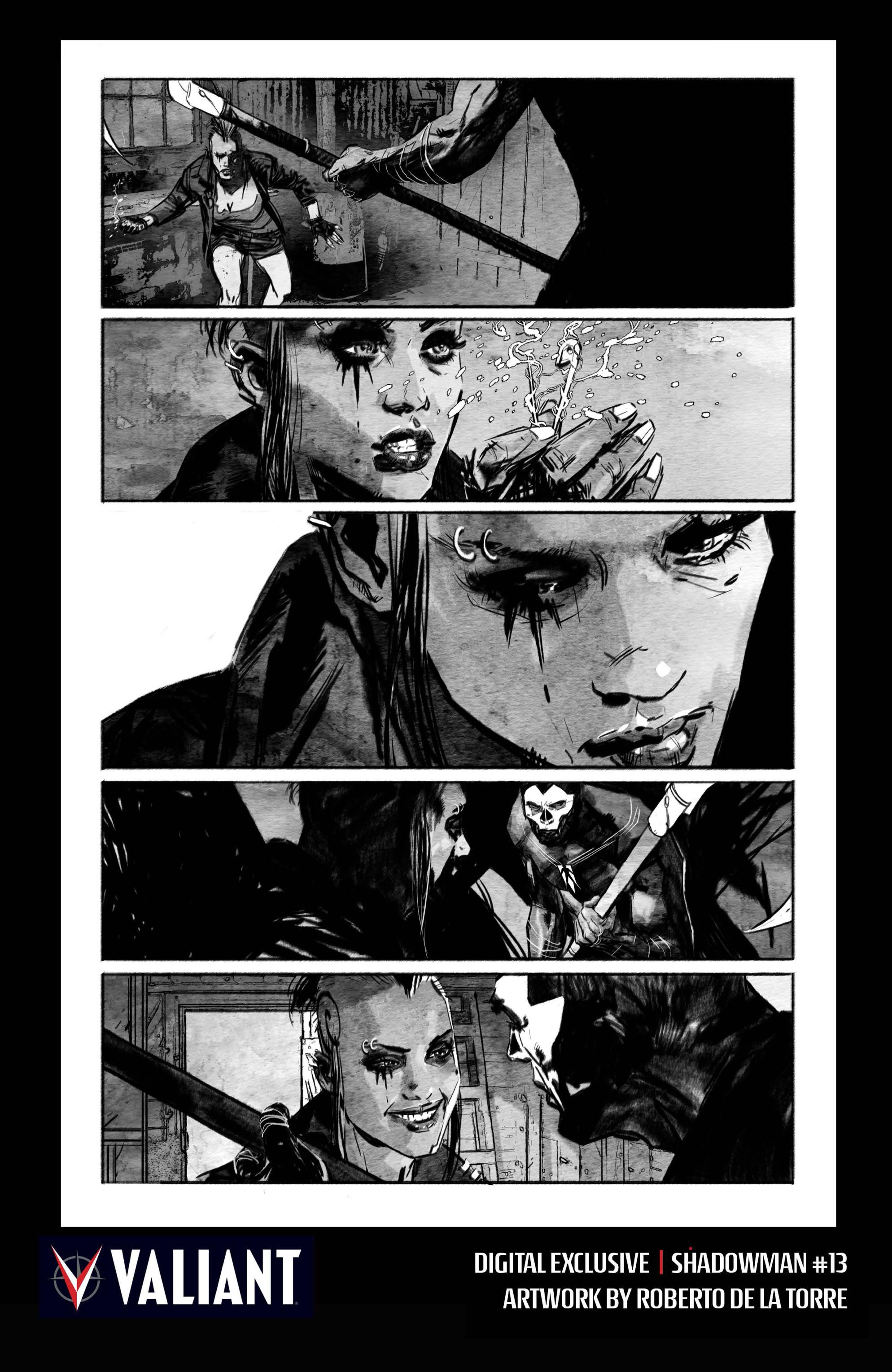 Read online Shadowman (2012) comic -  Issue #13 - 33