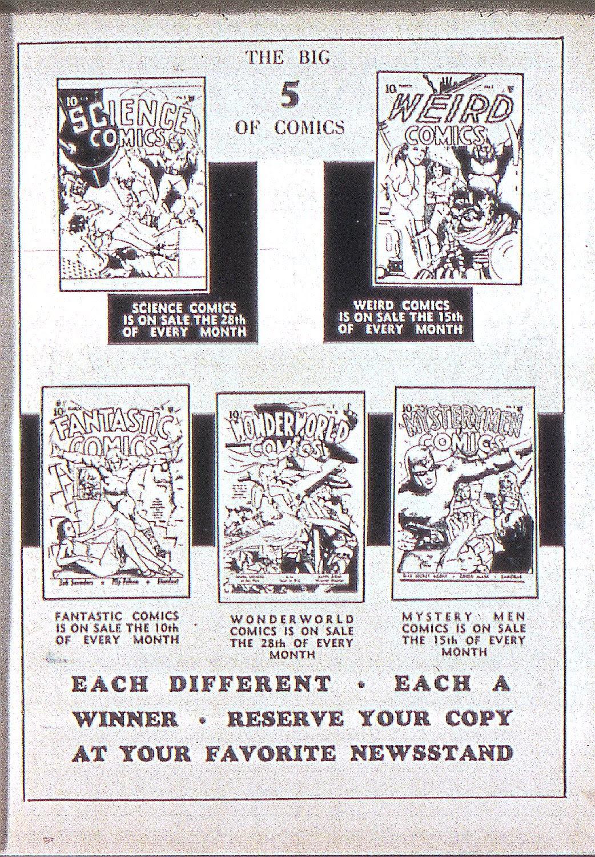 Read online Fantastic Comics comic -  Issue #5 - 66