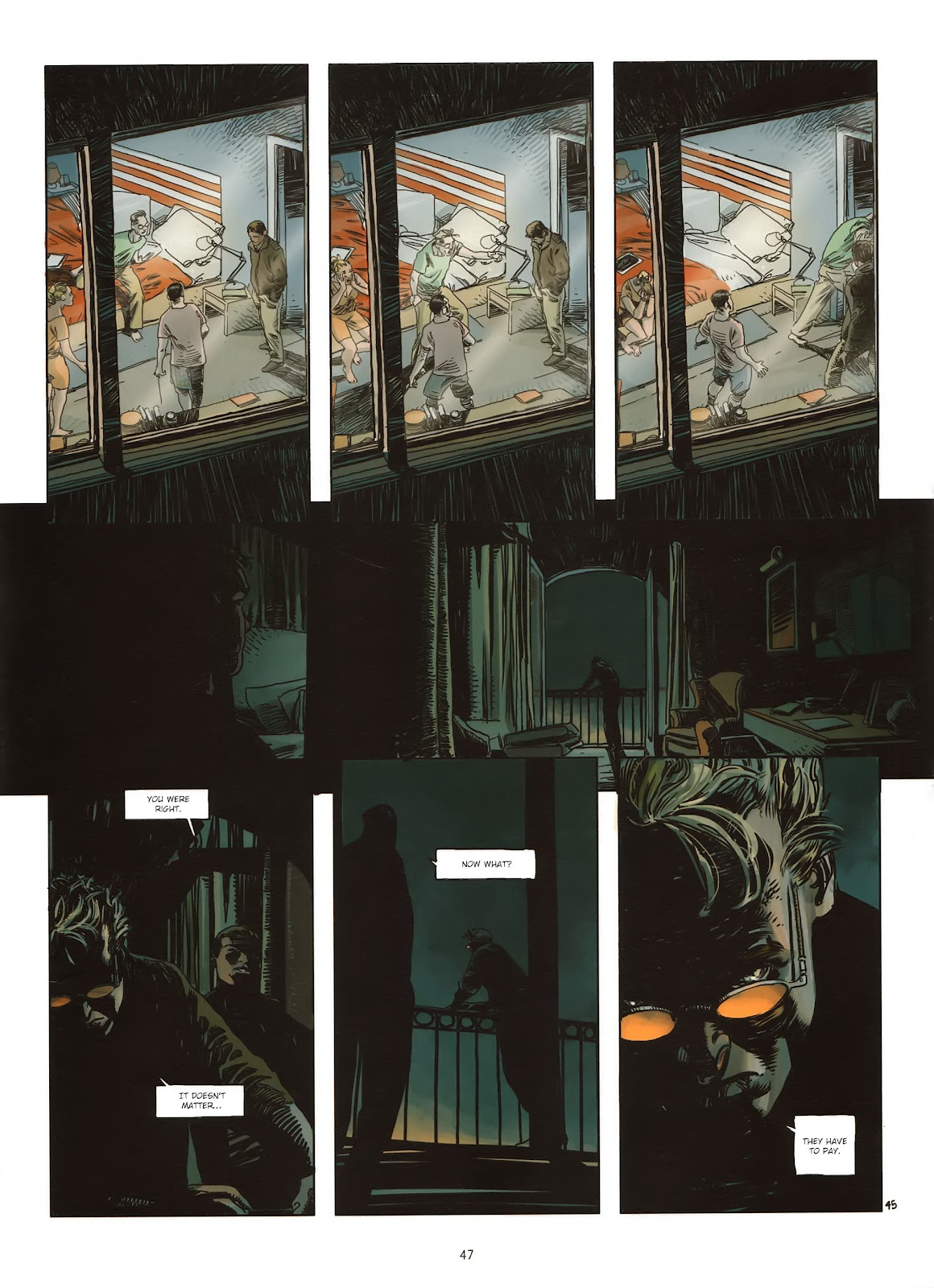 Read online Cutting Edge (2013) comic -  Issue #1 - 45
