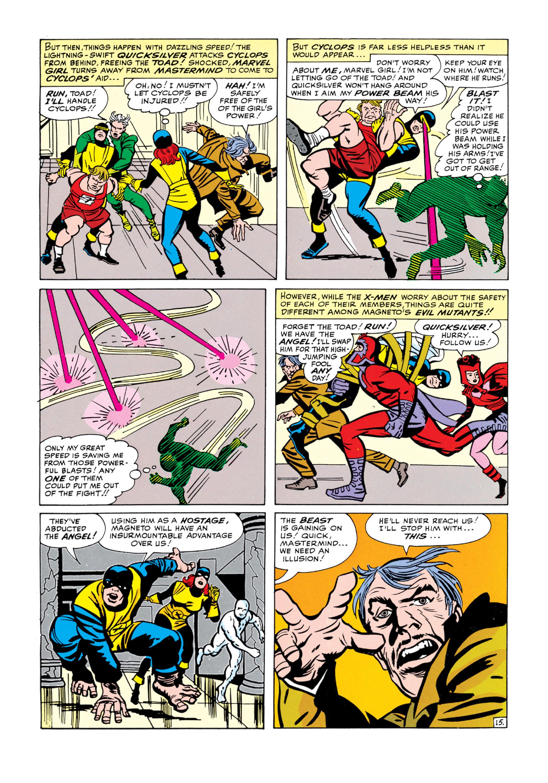 Read online Uncanny X-Men (1963) comic -  Issue #5 - 16