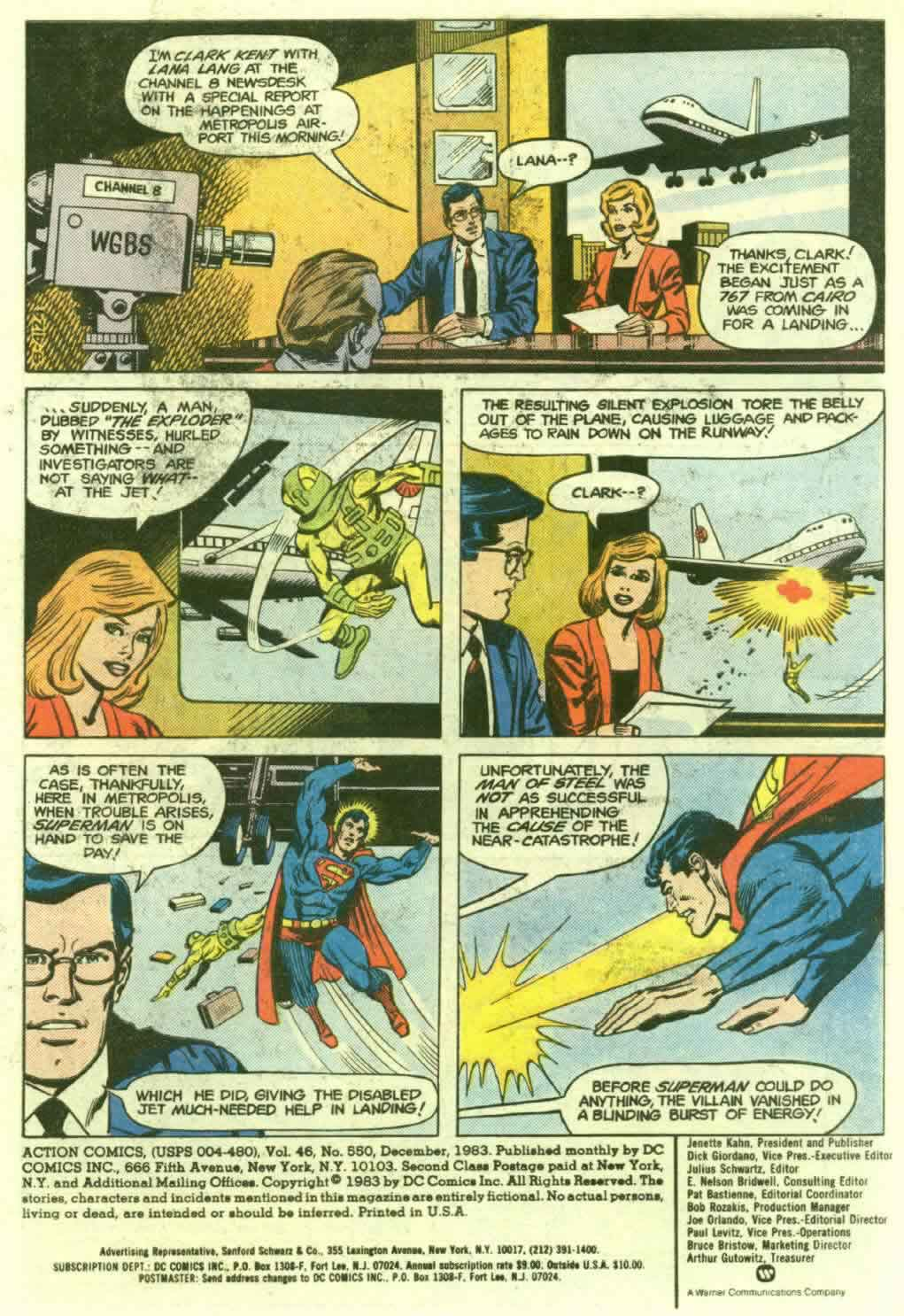 Read online Action Comics (1938) comic -  Issue #550 - 2