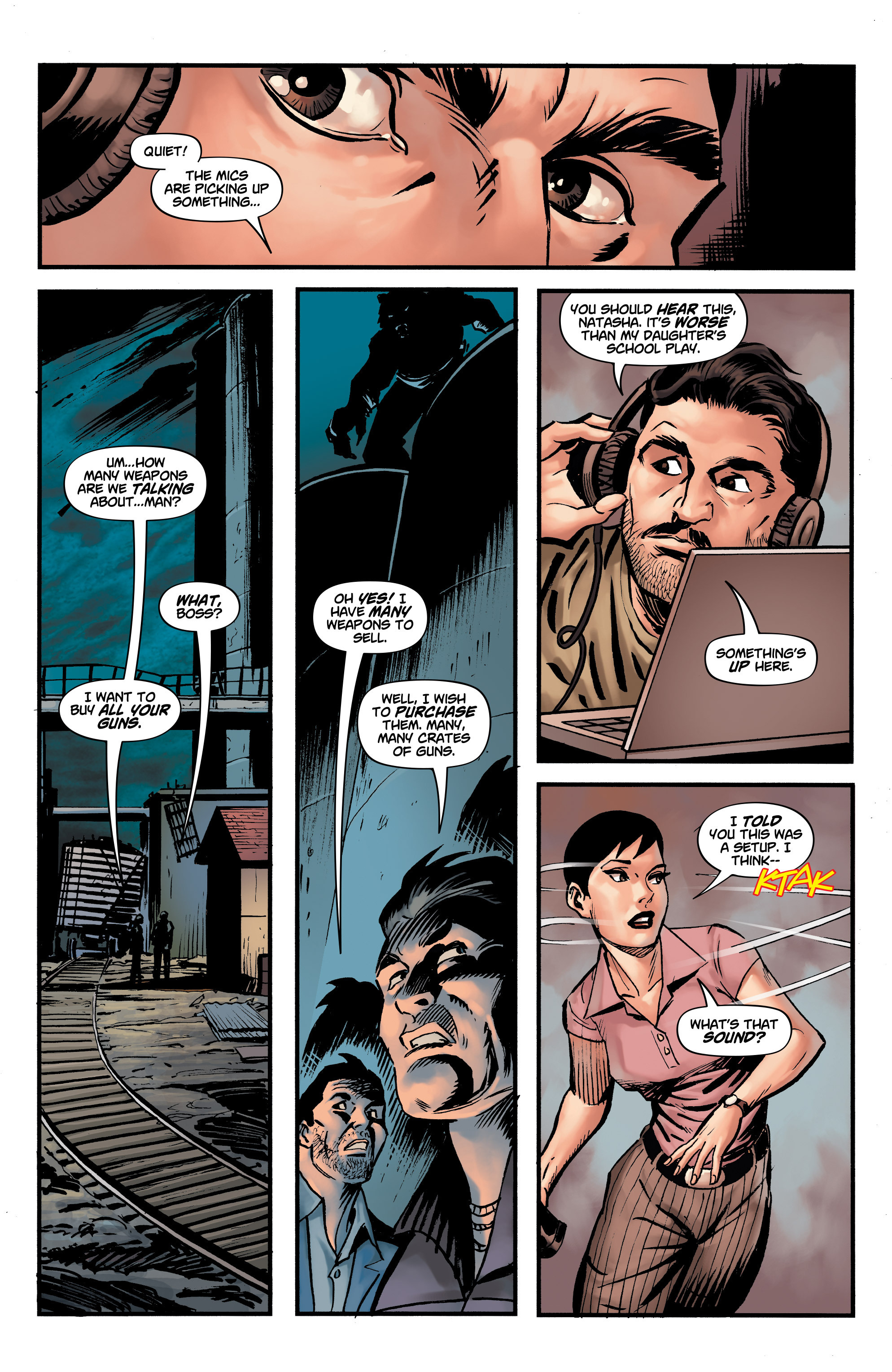 Read online Shadow Tiger comic -  Issue #3 - 12