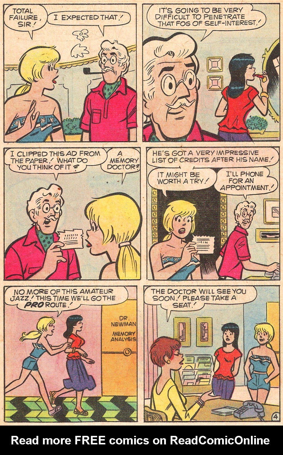 Read online Archie's Girls Betty and Veronica comic -  Issue #274 - 16