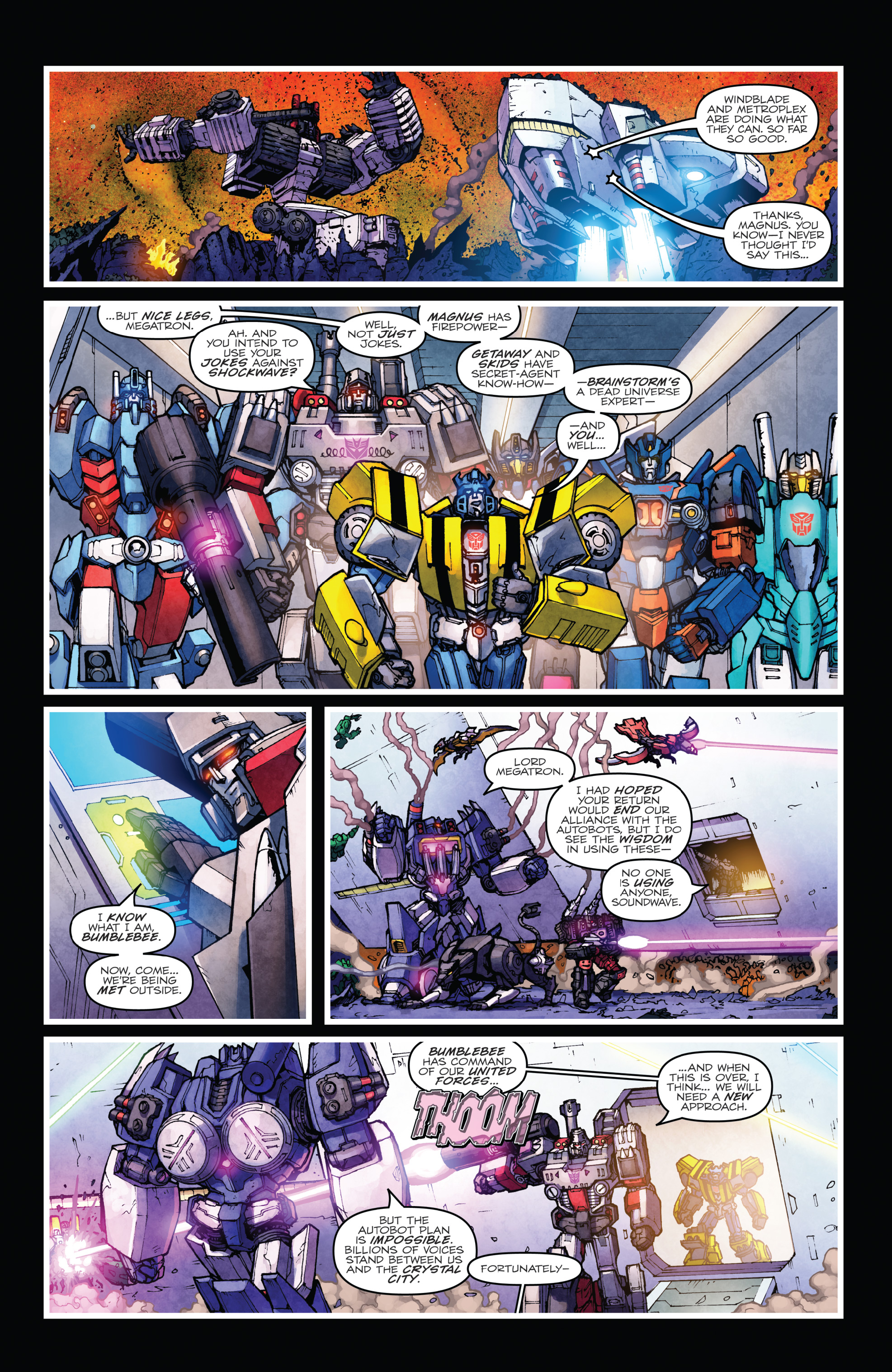 Read online The Transformers: Dark Cybertron Finale comic -  Issue # Full - 110
