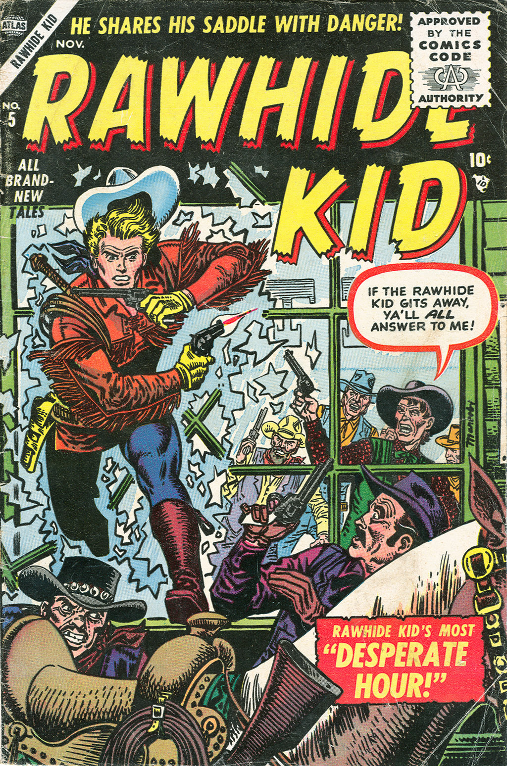 The Rawhide Kid (1955) issue 5 - Page 1