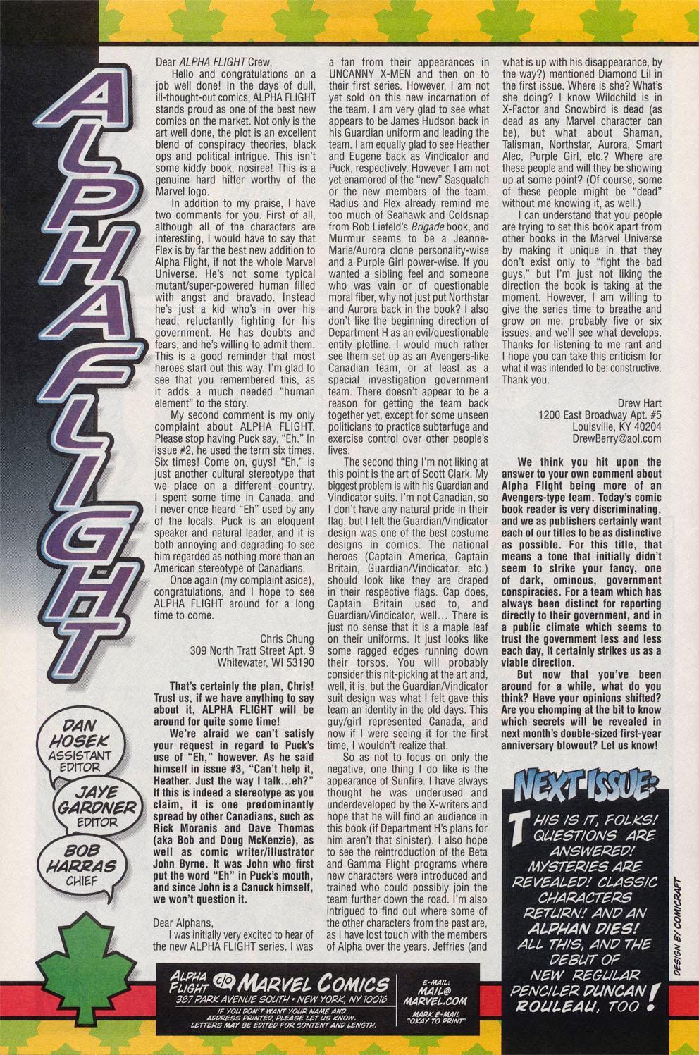 Read online Alpha Flight (1997) comic -  Issue #11 - 23