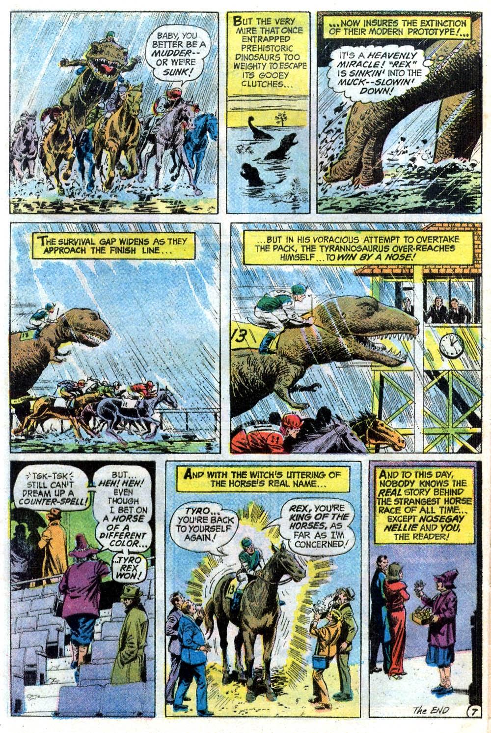 Read online Strange Sports Stories (1973) comic -  Issue #2 - 22