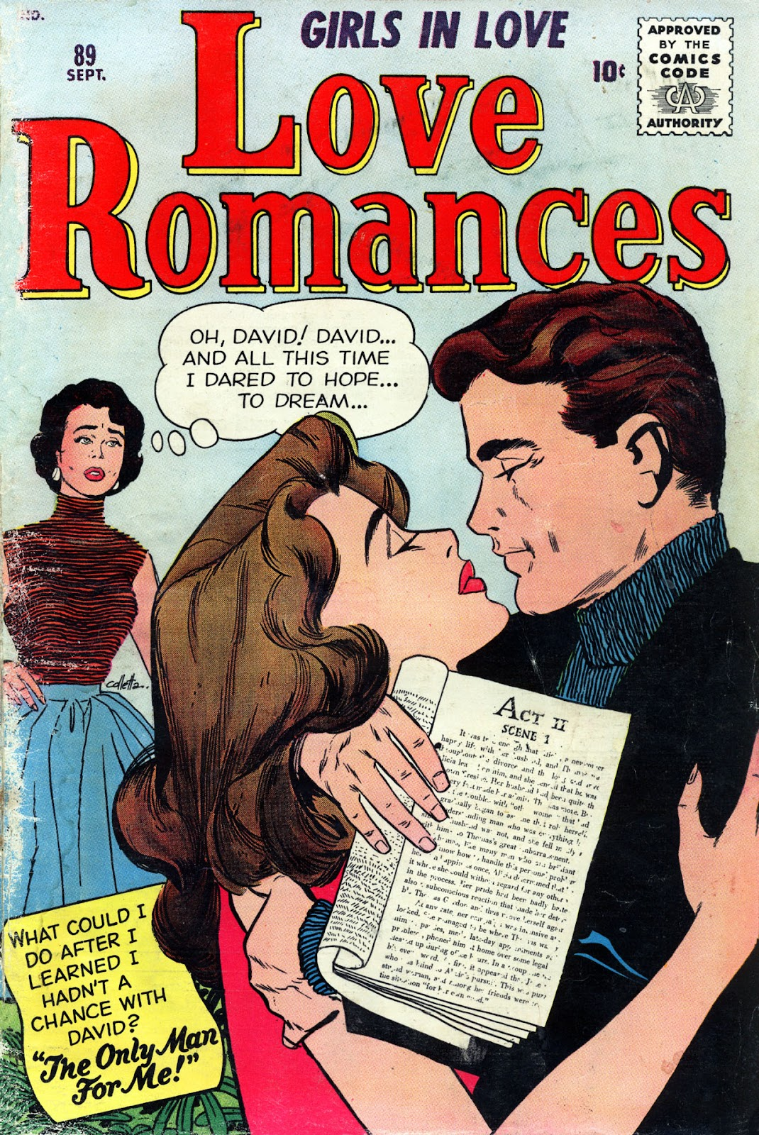 Love Romances (1949) issue 89 - Page 1