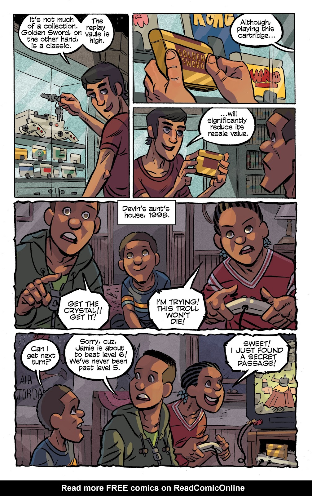 Read online Cellies comic -  Issue #8 - 19