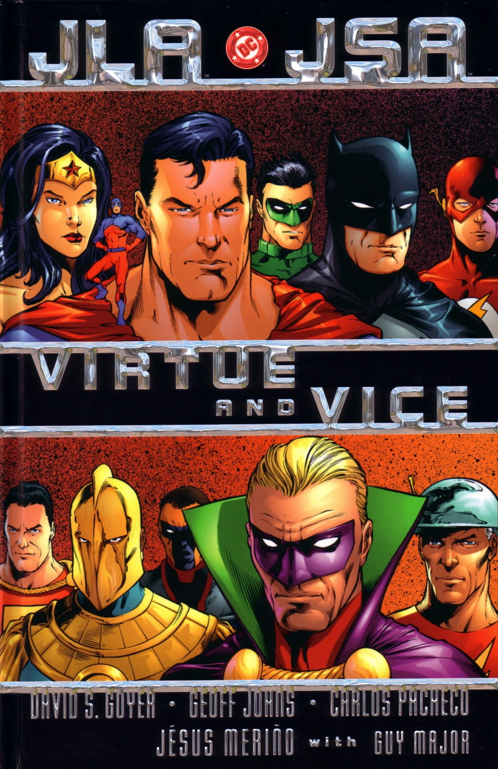 Read online JLA/JSA: Virtue and Vice comic -  Issue # TPB - 1