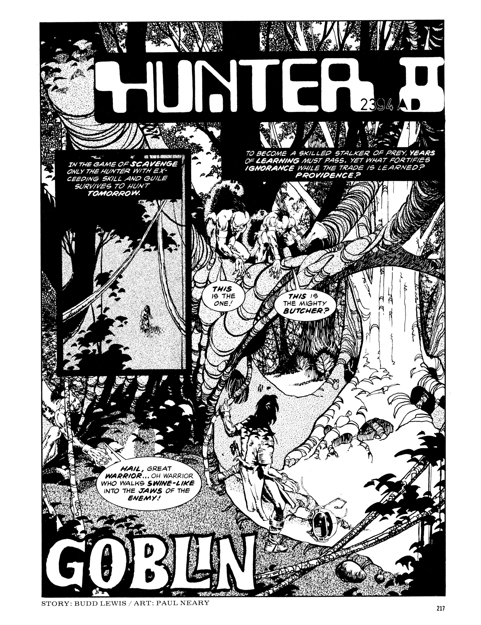 Read online Eerie Archives comic -  Issue # TPB 14 - 218