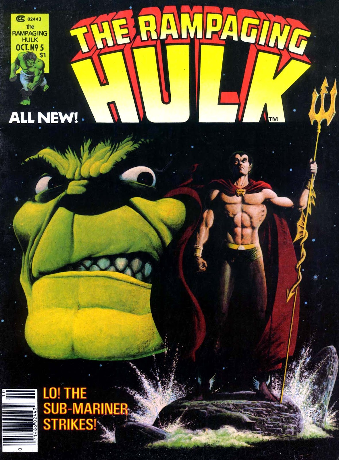 The Rampaging Hulk (1977) issue 5 - Page 1