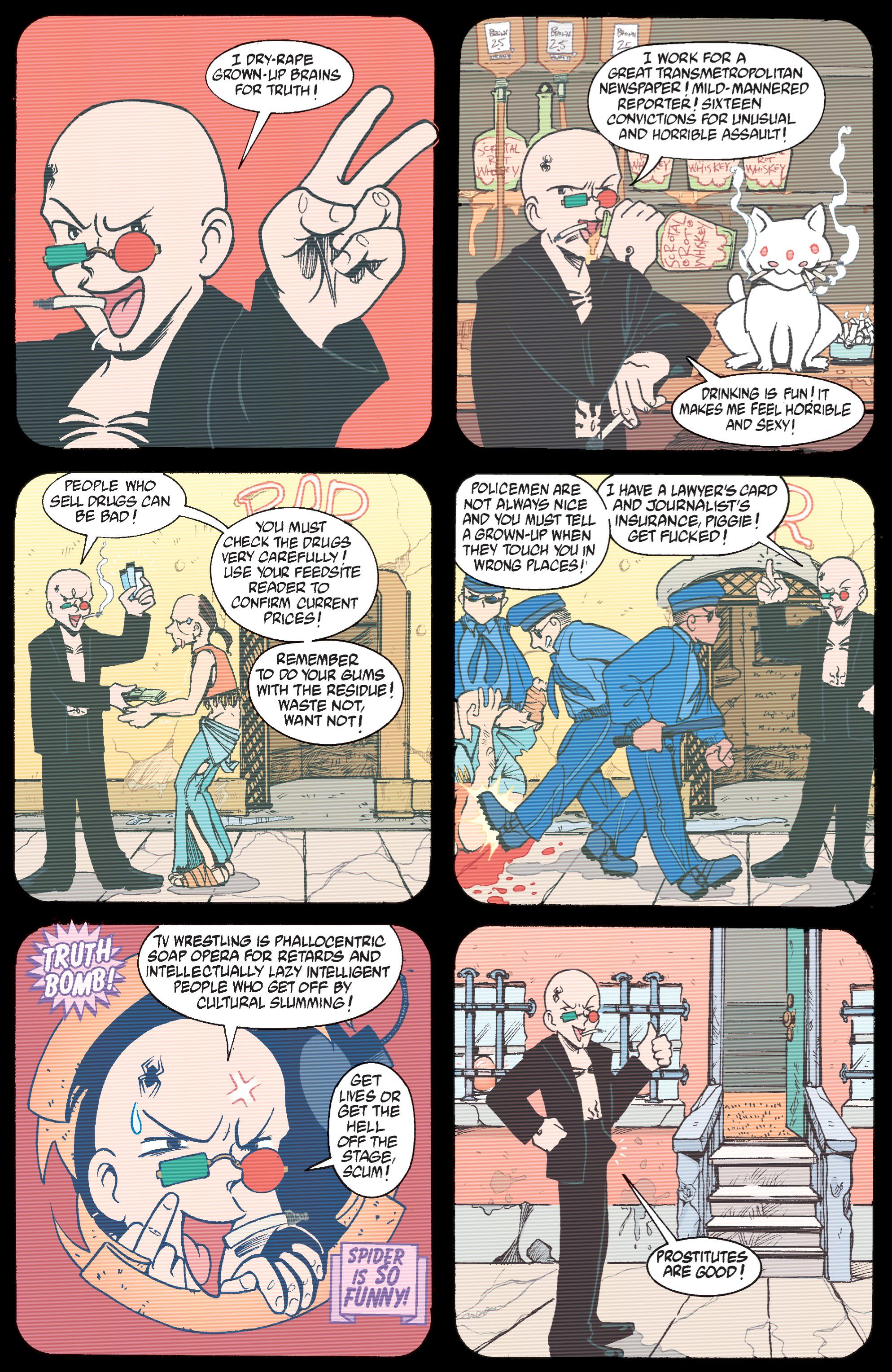 Read online Transmetropolitan comic -  Issue #31 - 4