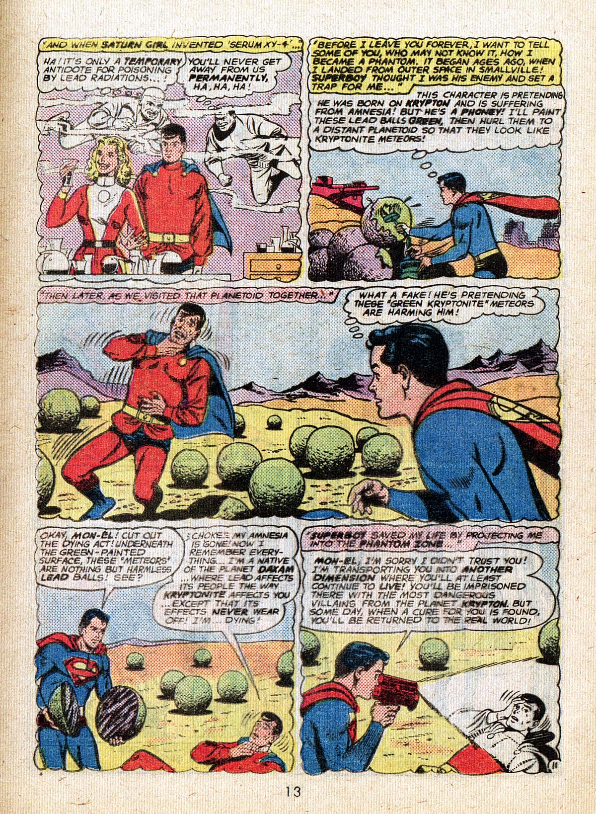 Read online Adventure Comics (1938) comic -  Issue #500 - 13
