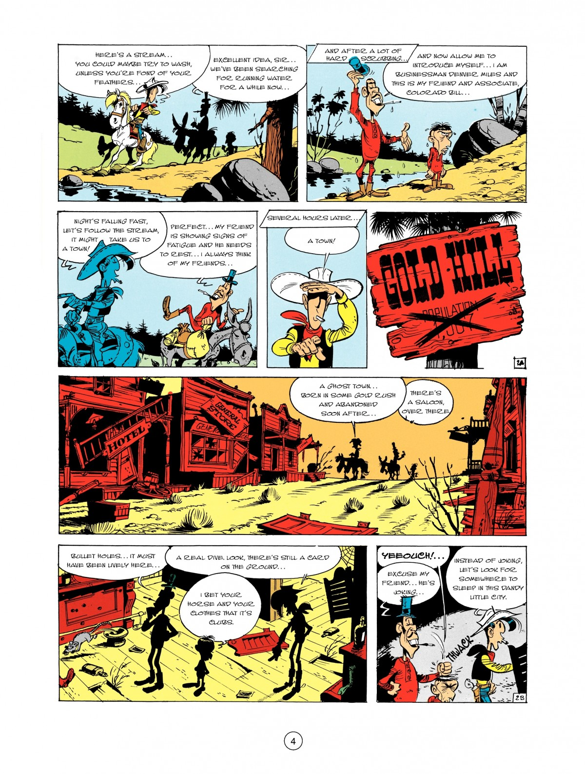 Read online A Lucky Luke Adventure comic -  Issue #2 - 6