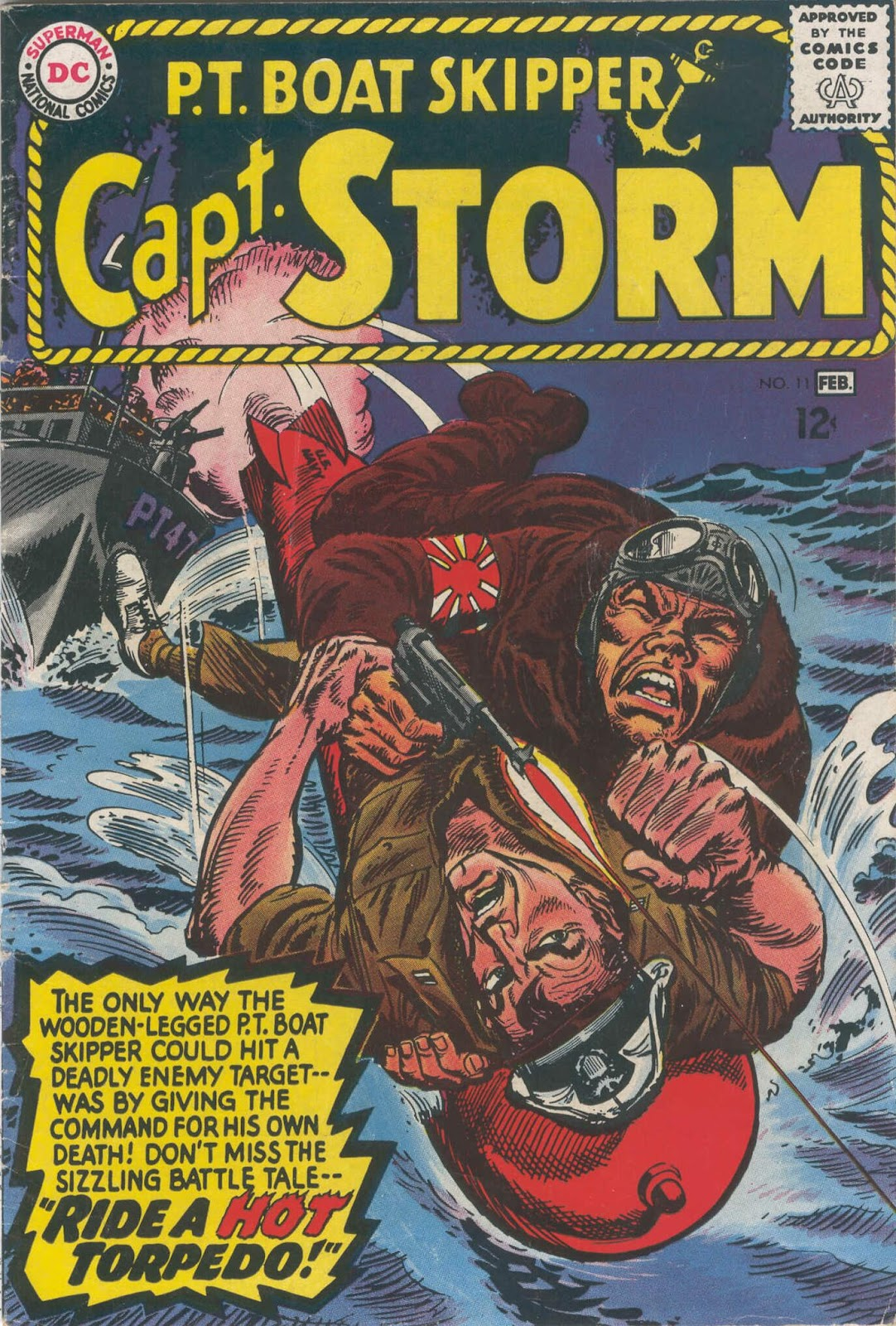 Capt. Storm issue 11 - Page 1