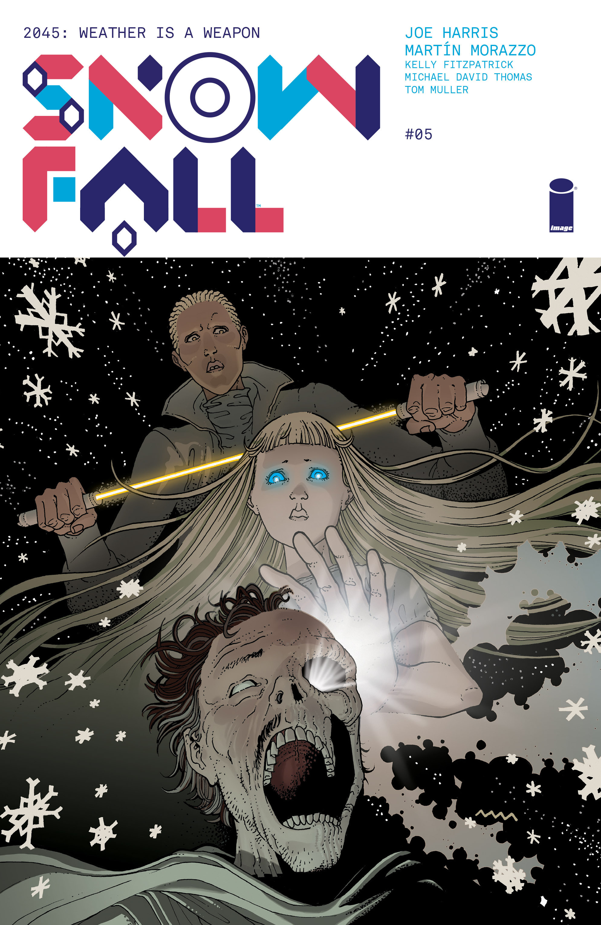 Read online Snowfall comic -  Issue #5 - 1