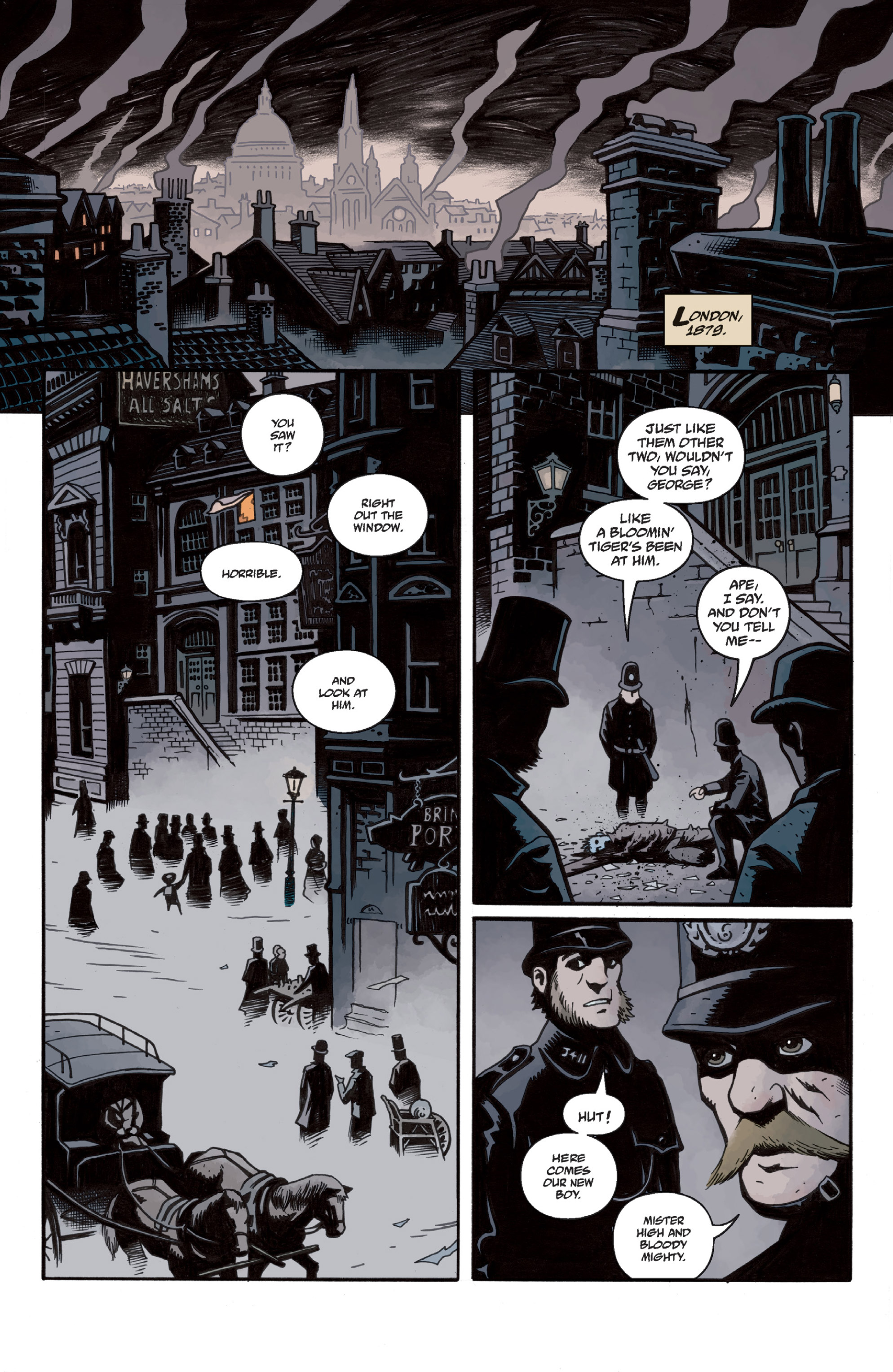 Read online Sir Edward Grey, Witchfinder: In the Service of Angels comic -  Issue # TPB - 8