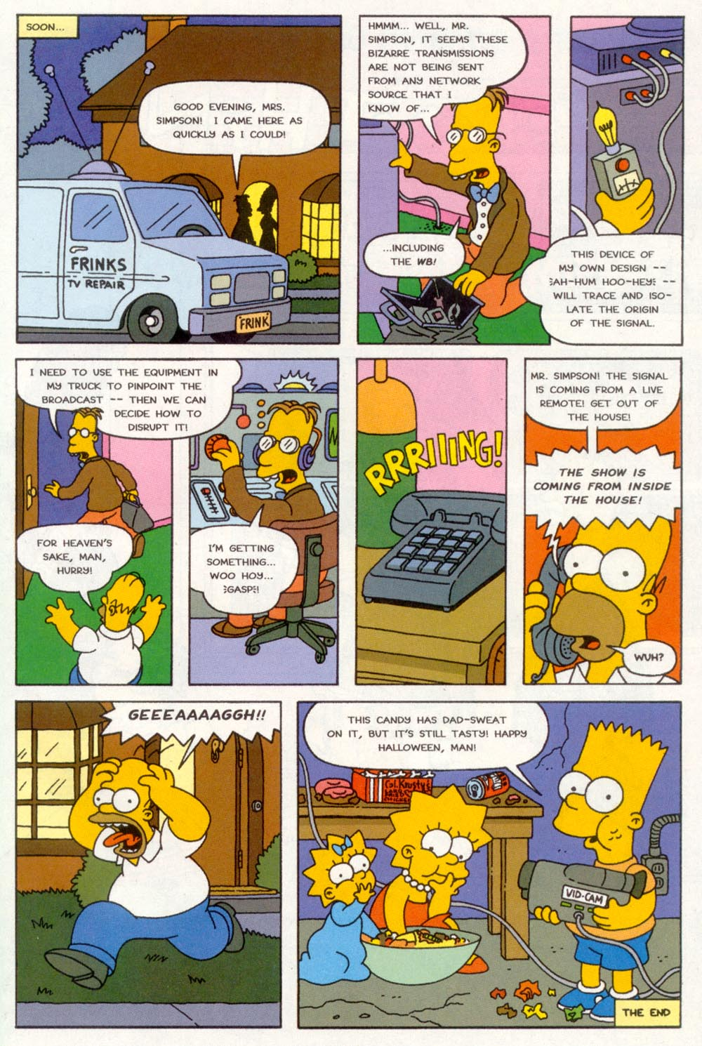 Read online Treehouse of Horror comic -  Issue #3 - 28