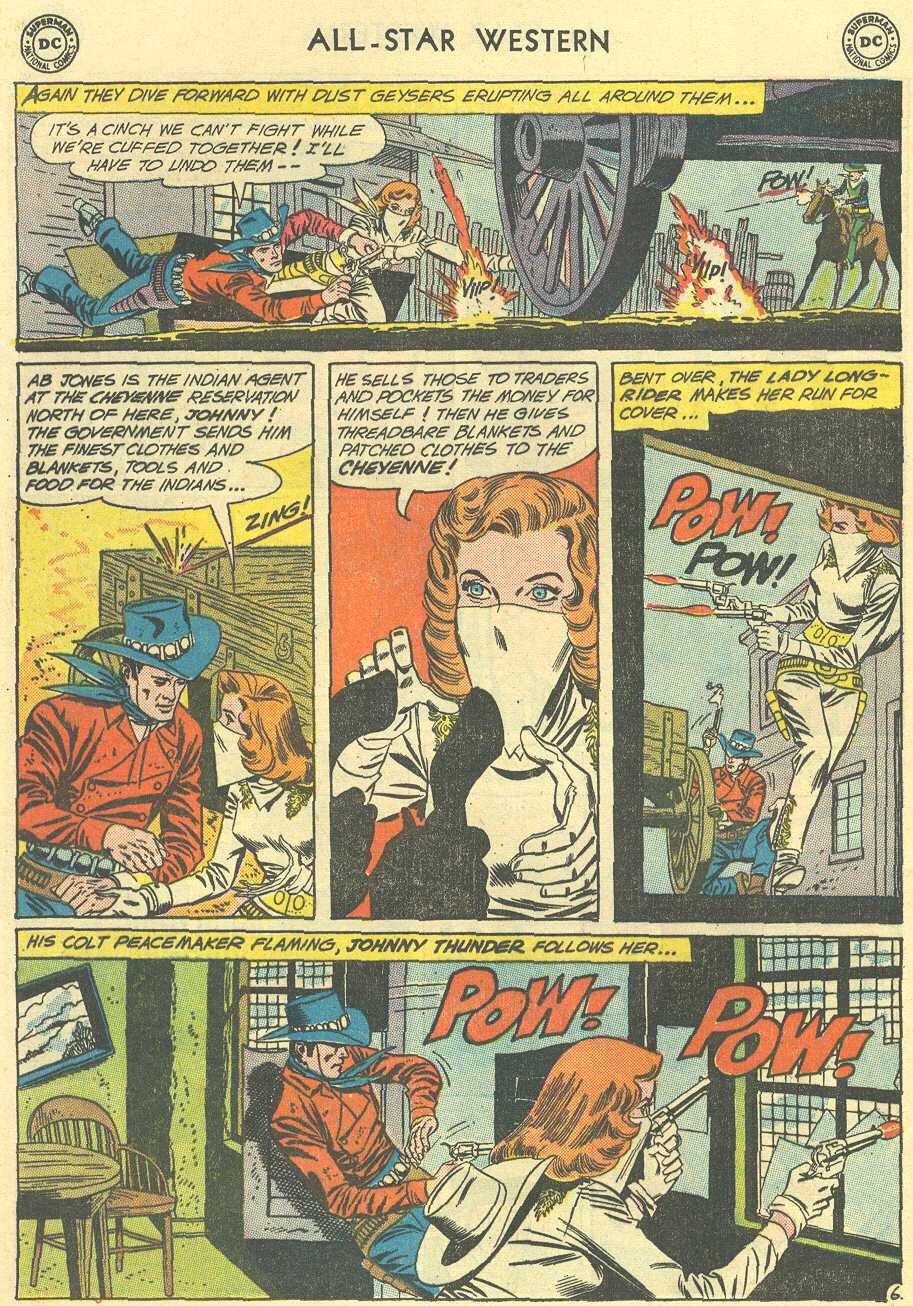 Read online All-Star Western (1951) comic -  Issue #119 - 8