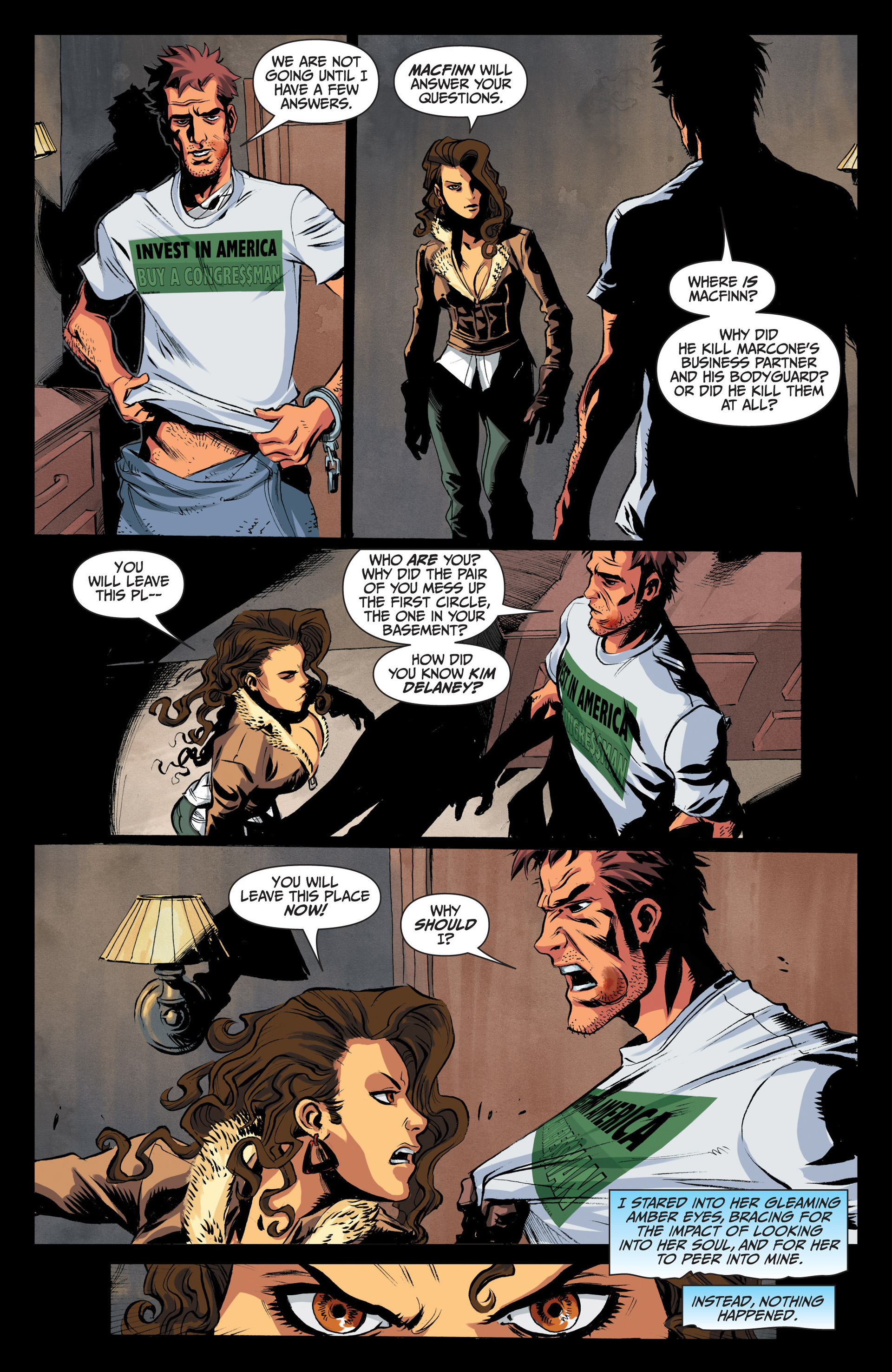 Read online Jim Butcher's The Dresden Files: Fool Moon comic -  Issue #4 - 5