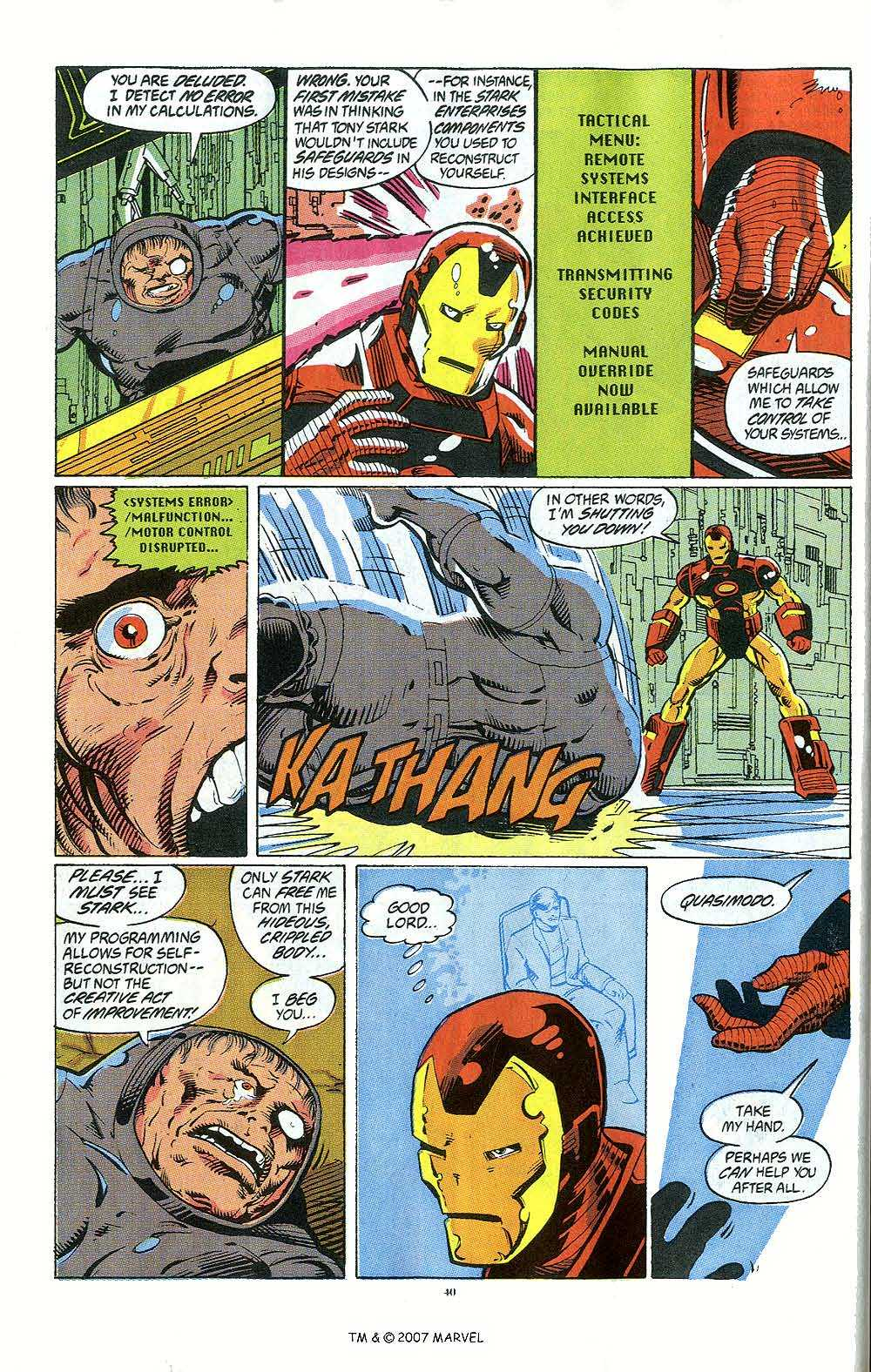 Iron Man Annual issue 12 - Page 42