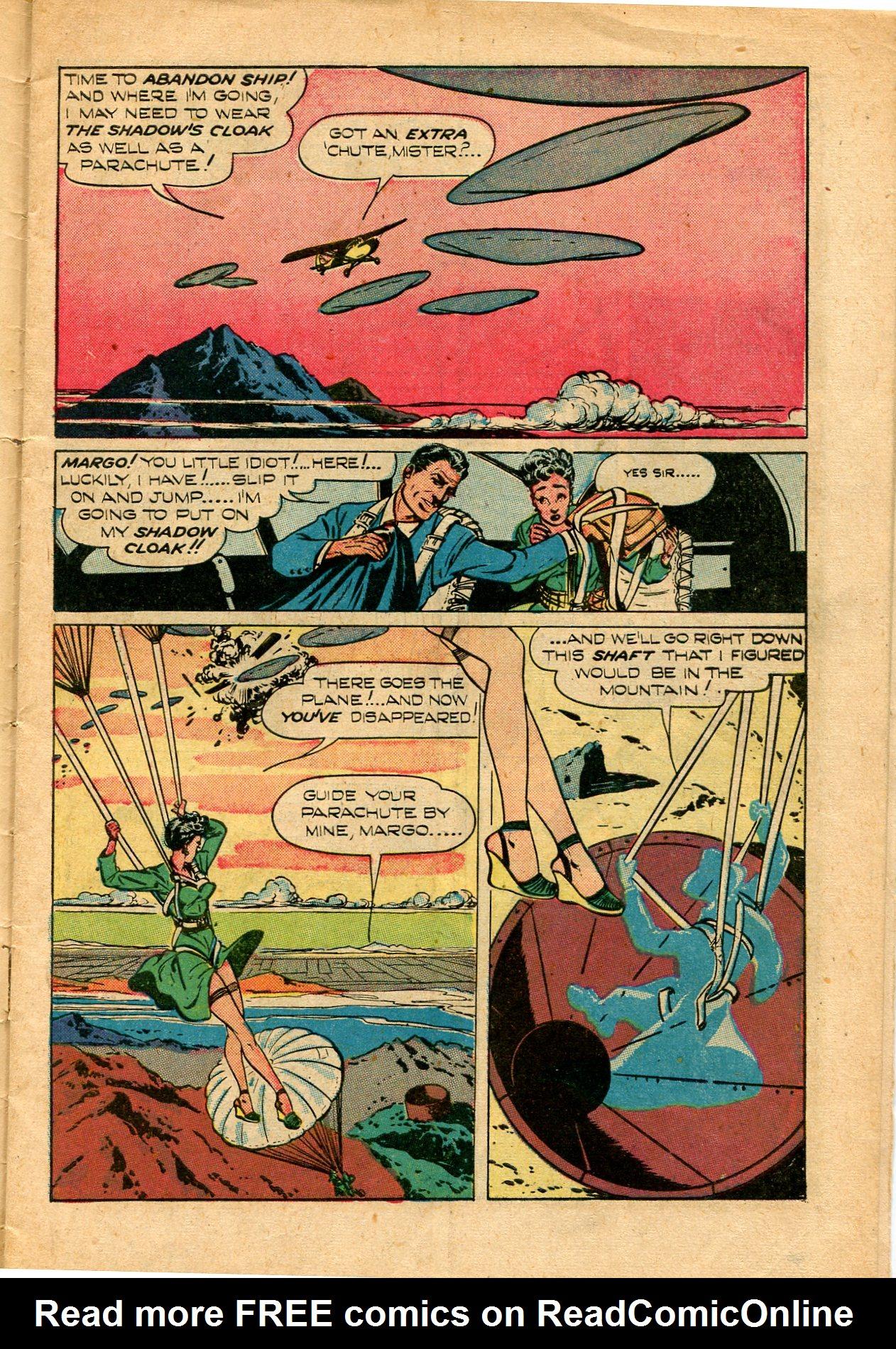 Read online Shadow Comics comic -  Issue #82 - 7