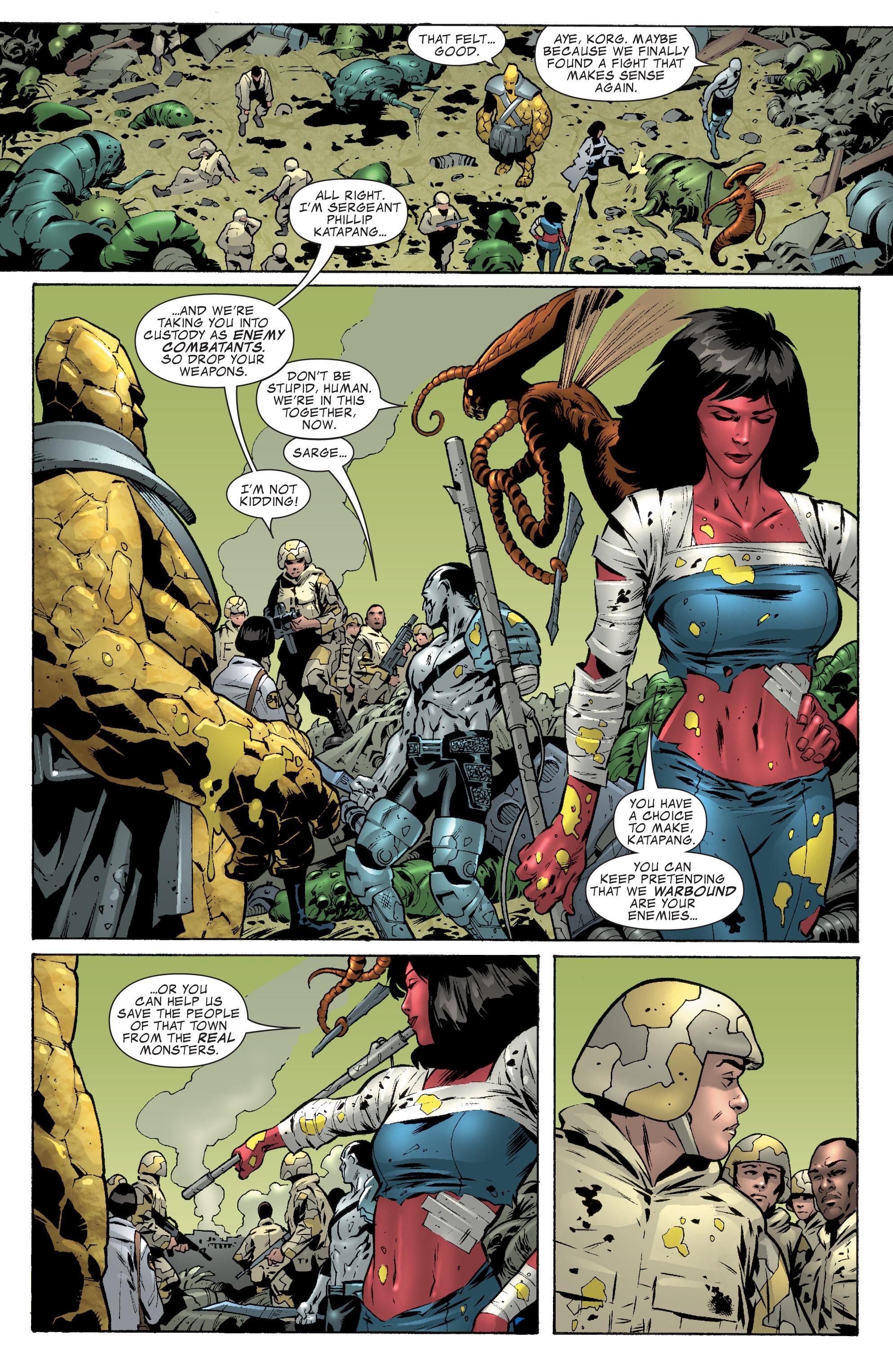 Read online World War Hulk Aftersmash: Warbound, Vol. 1 comic -  Issue #2 - 11
